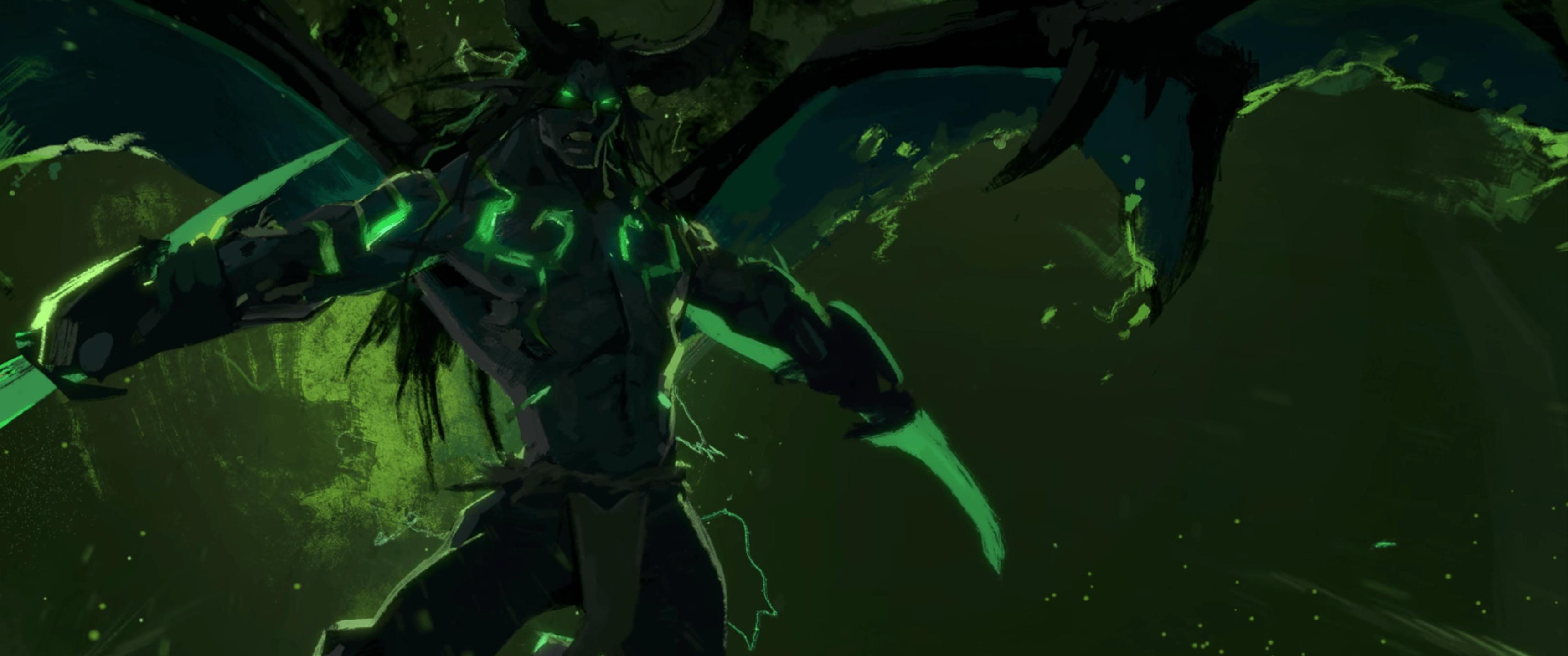 Jungle Wallpaper World Of Warcraft: Demon Hunter Wallpapers