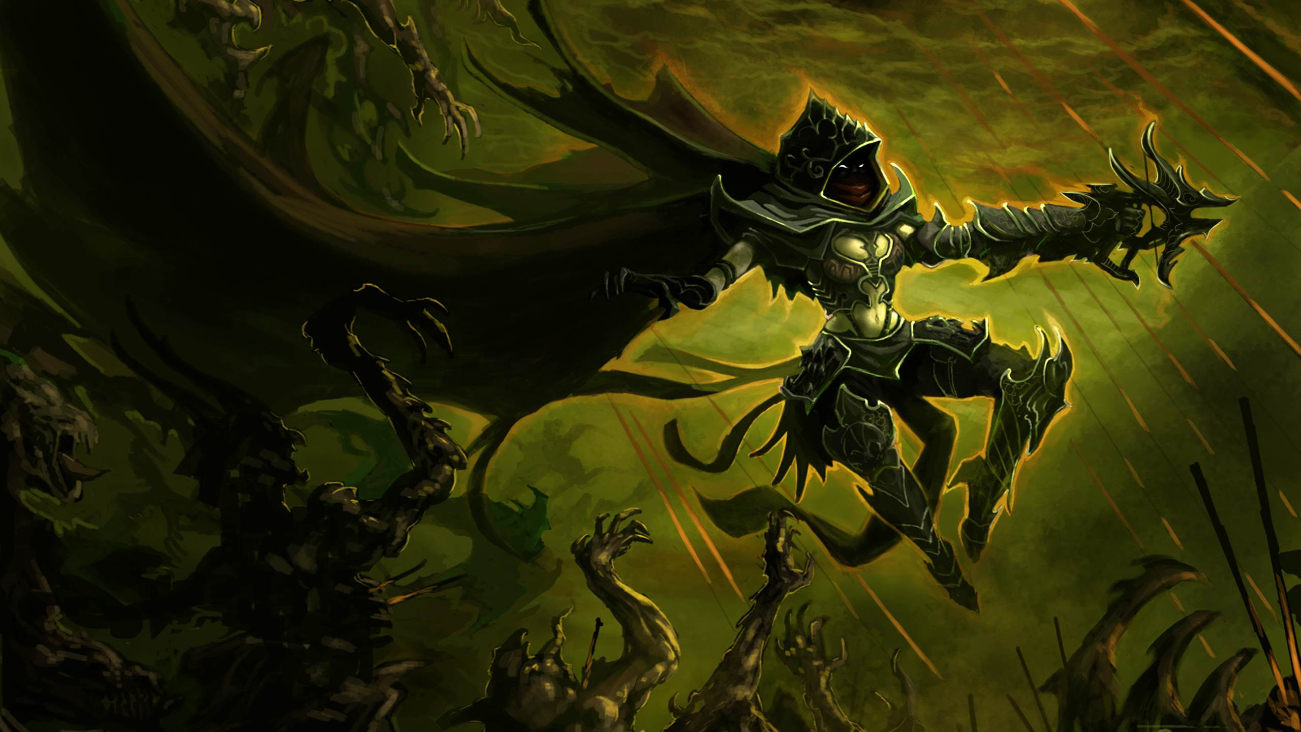 Wow Hunter Wallpapers Hd Wallpaper Cave