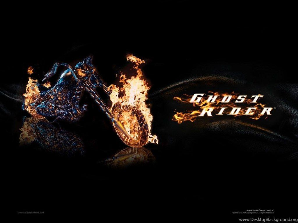 Ghost Rider Bike Exclusive HD Wallpapers Desktop Backgrounds