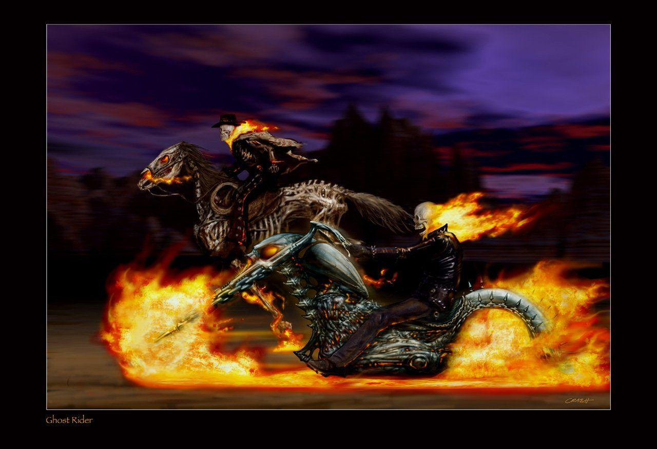 142 Ghost Rider HD Wallpapers