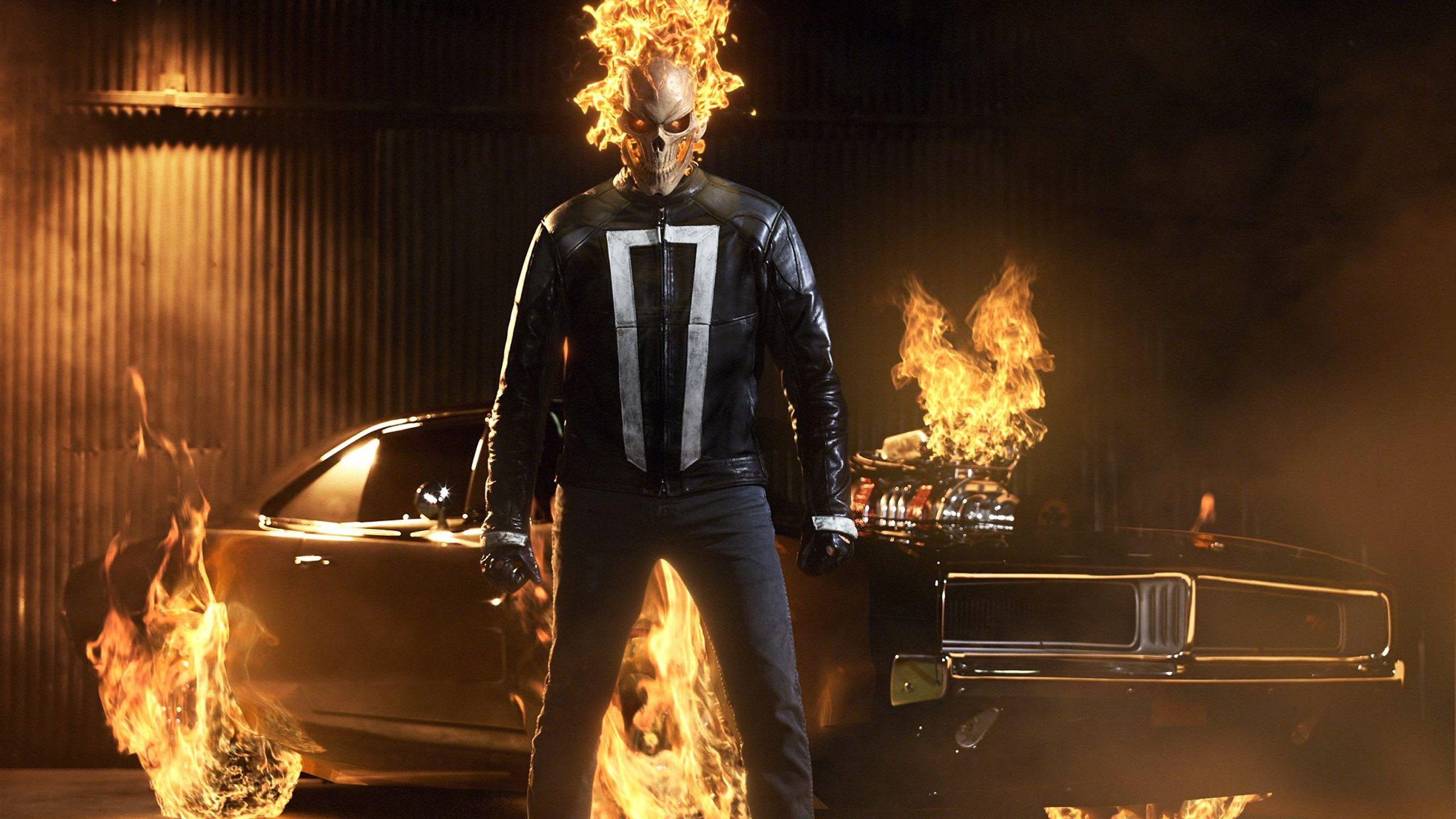 Wallpapers Ghost Rider, Agents of SHIELD, Season 4, HD, TV Series,