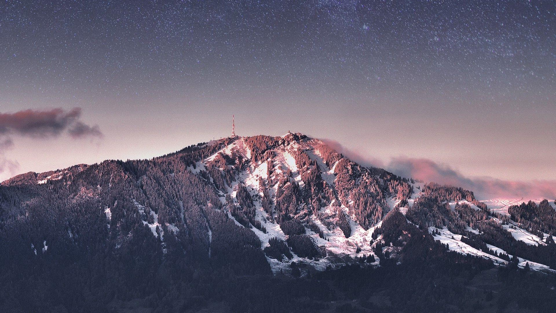 Night Mountain Wallpapers Wallpaper Cave