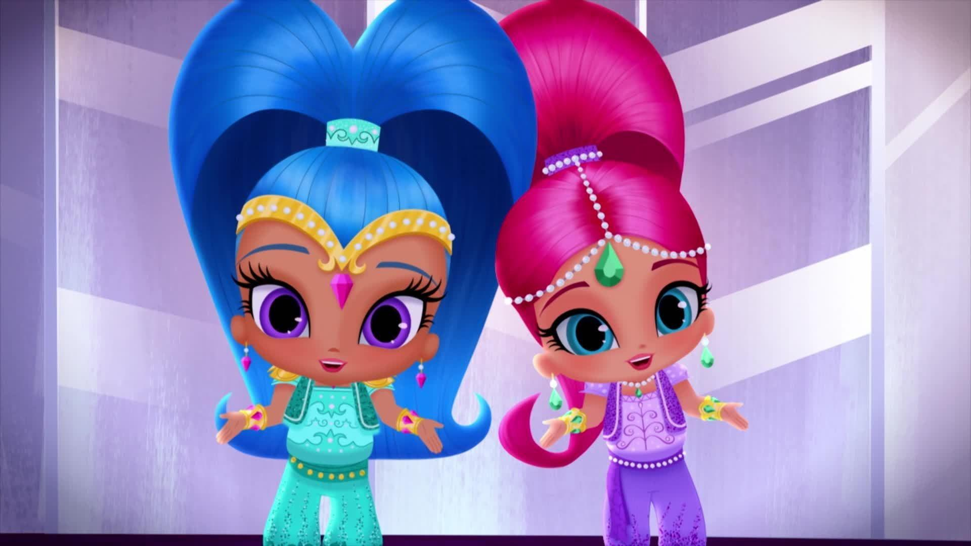Shimmer And Shine Wallpapers Wallpaper Cave