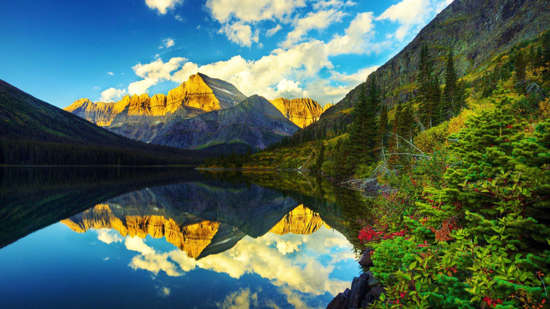 Glacier National Park Hd Wallpapers Wallpaper Cave