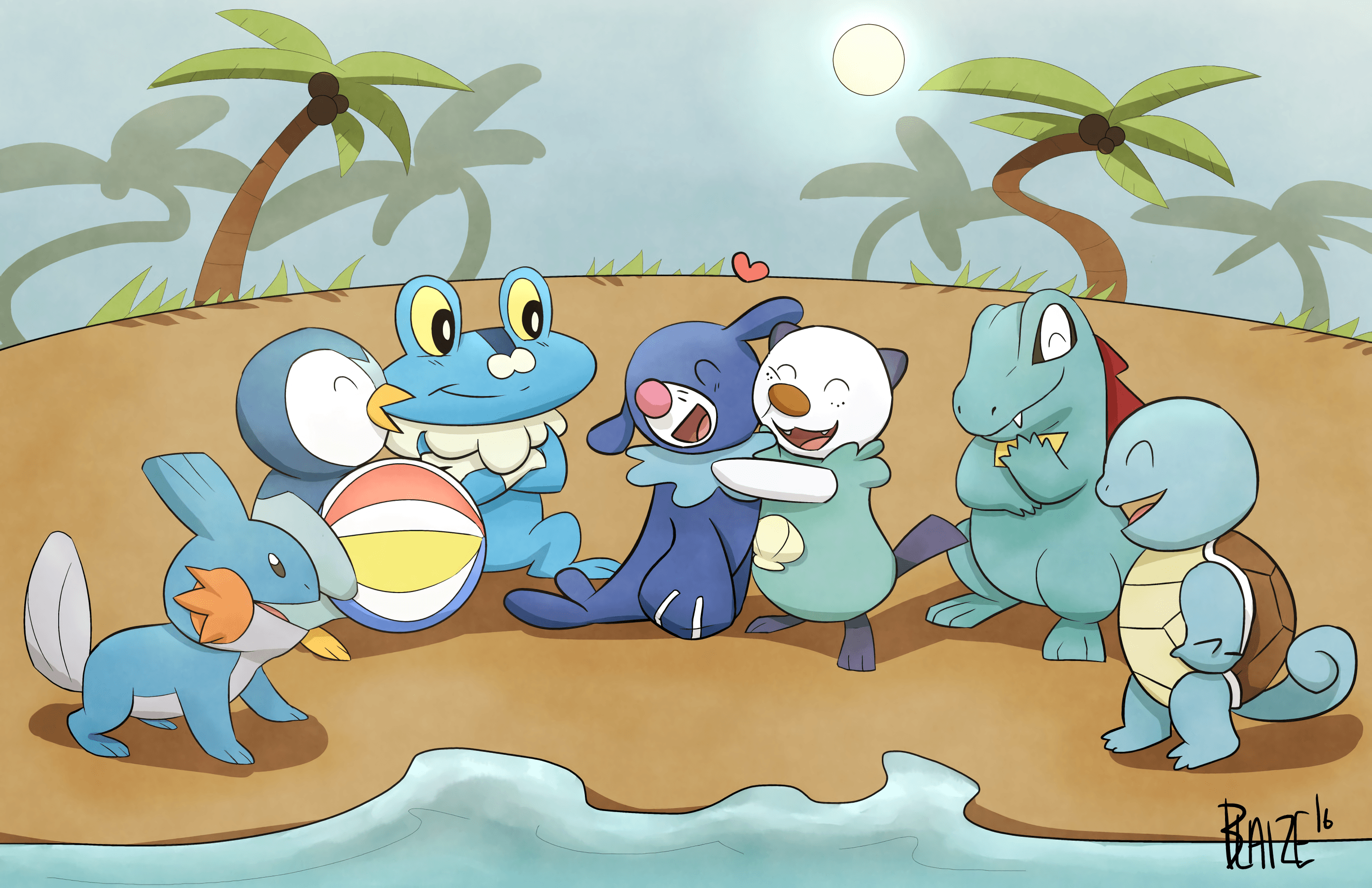 Welcome Popplio HD Wallpaper | Background Image | 2782x1800 | ID ...
