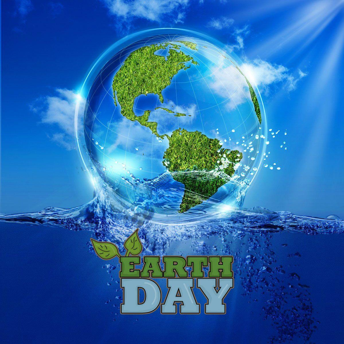 Happy Earth Day 3d Image New Backgrounds Hd Wallpapers
