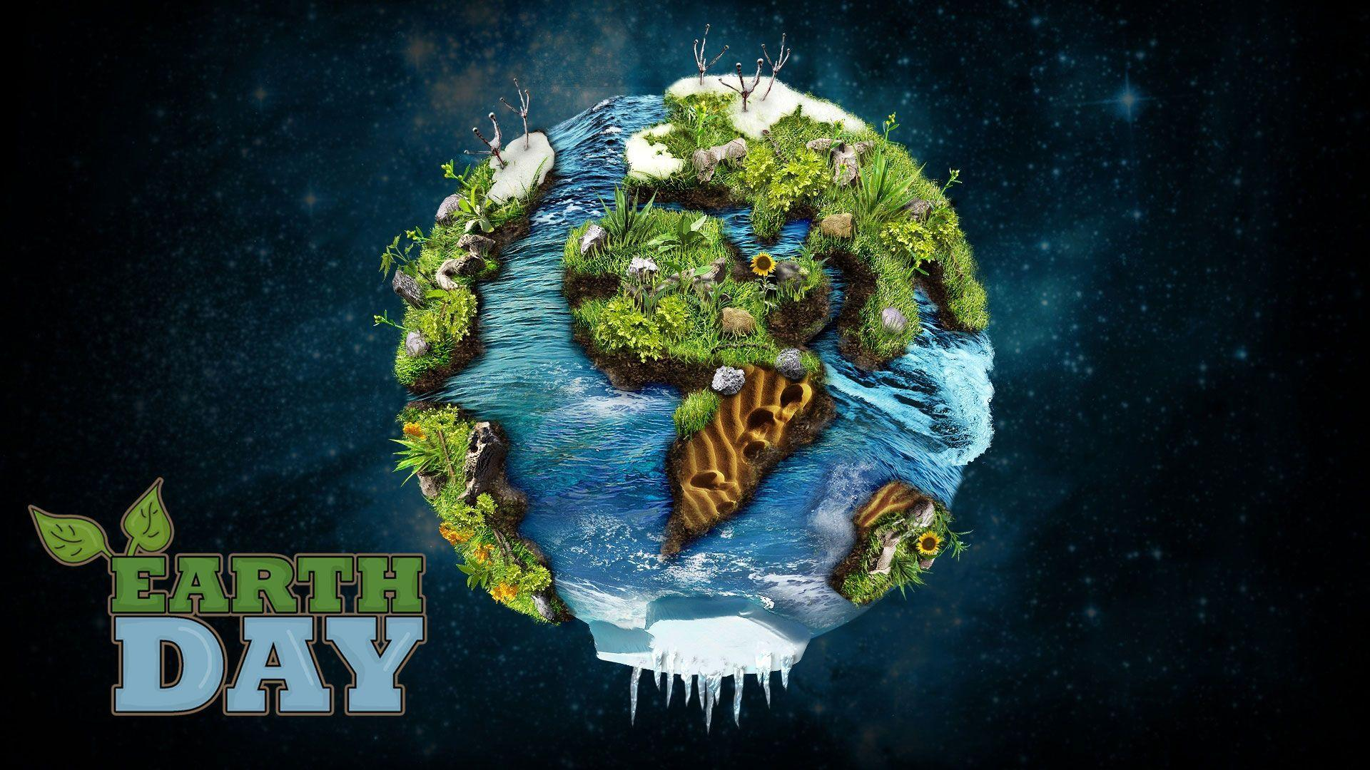 Happy Earth Day Green PC Hd Image Wallpapers