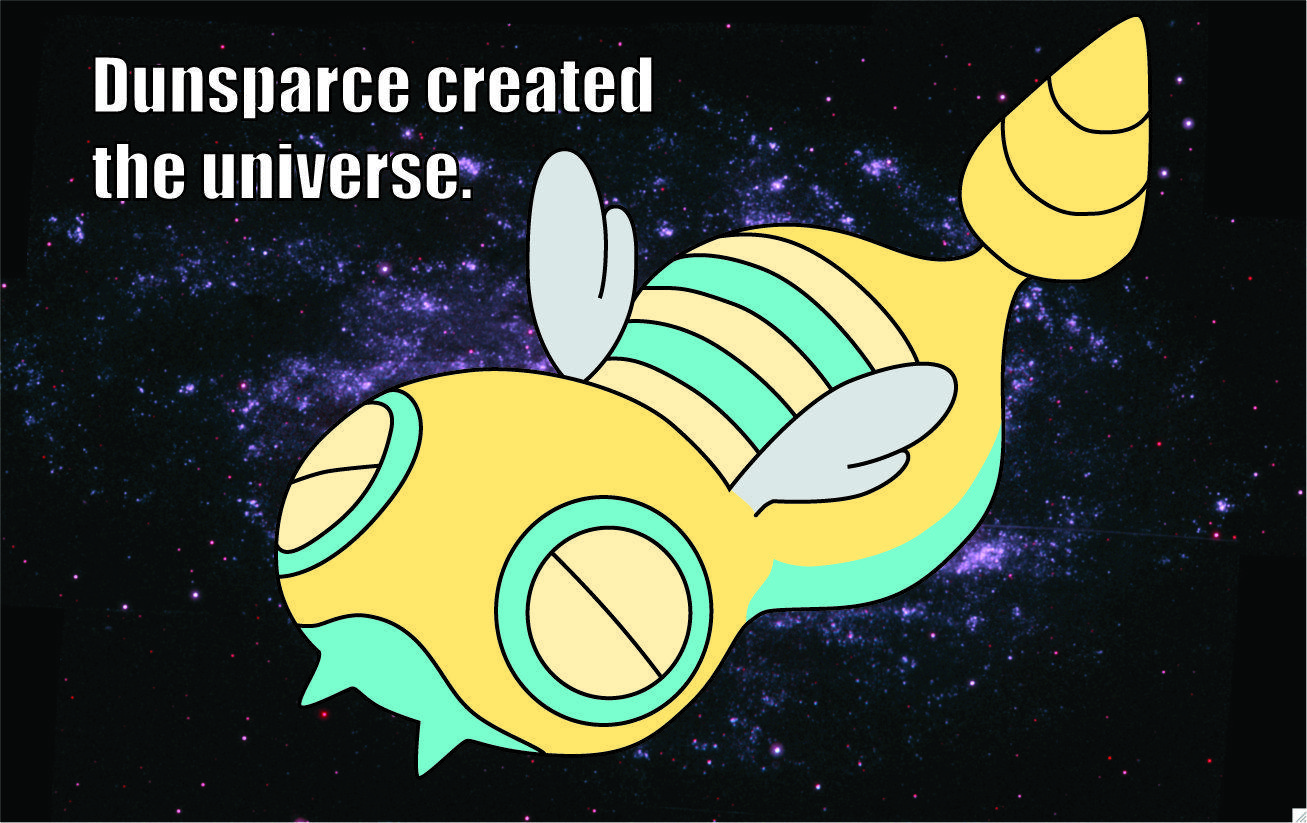 pokemon outer space dunsparce 1307x823 wallpapers High Quality