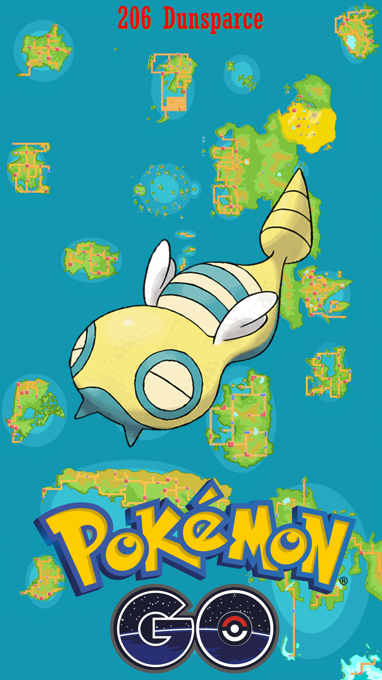 206 Street Map Dunsparce