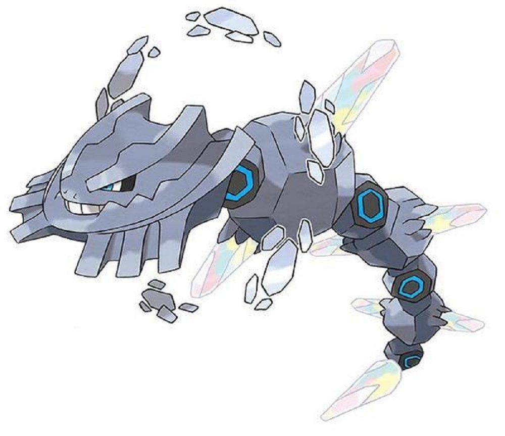 Steelix Omega Ruby Alpha Sapphire Pokemon Official Artwork 3DS