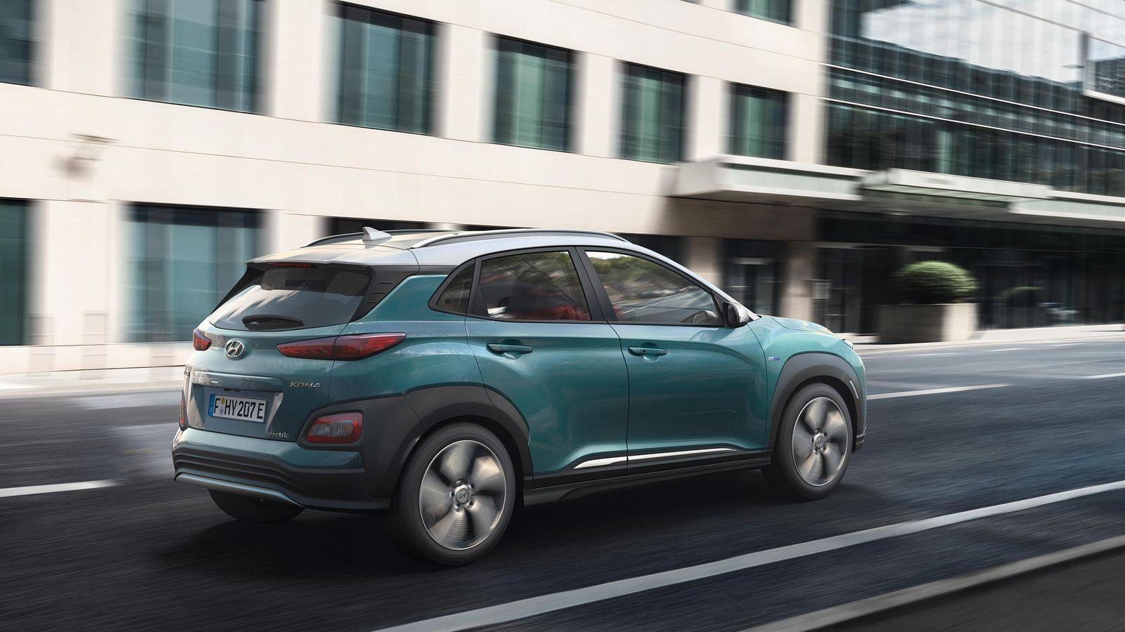 Hyundai Kona Electric SUV to charge into NY Auto Show