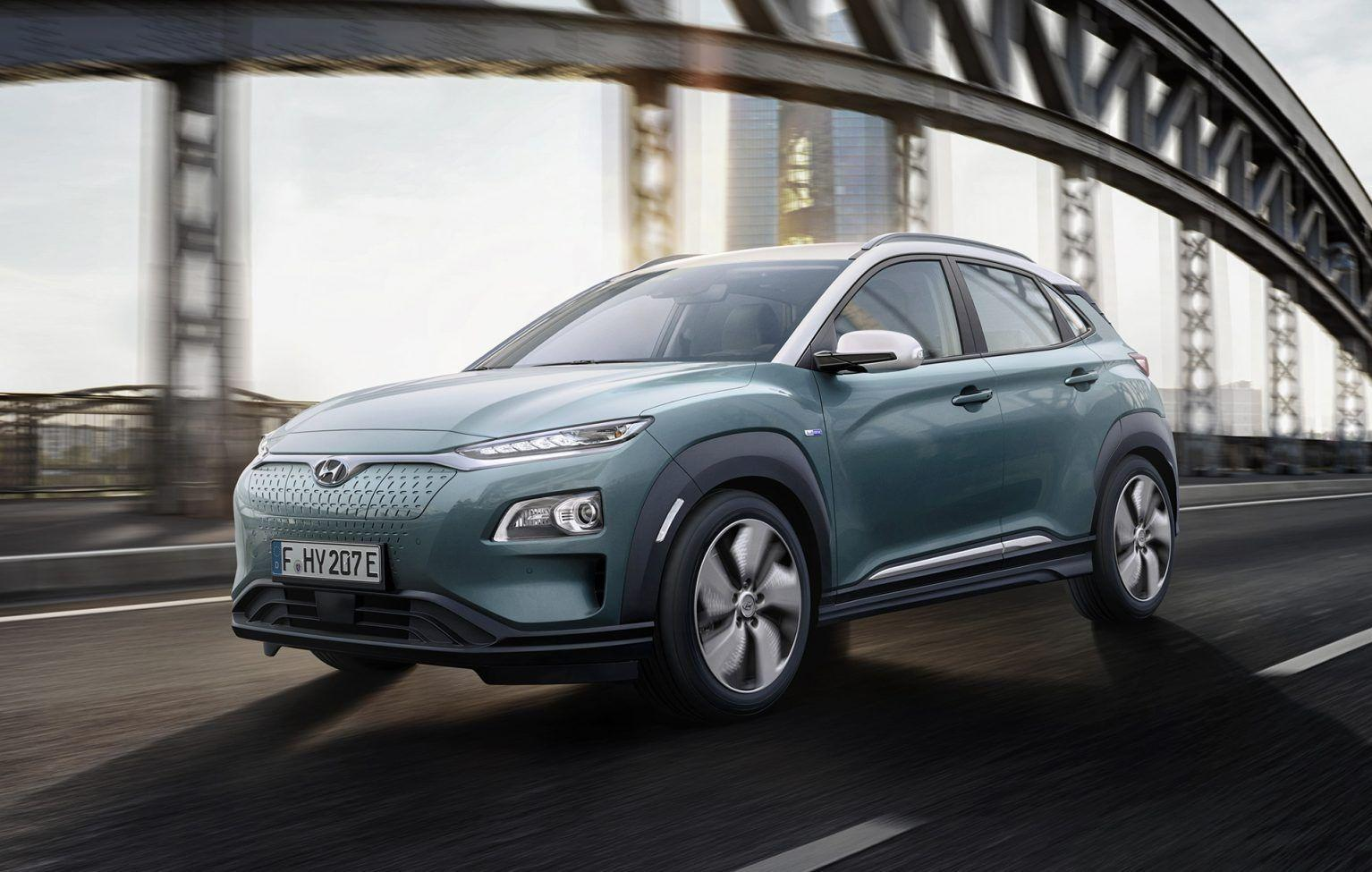2019 Hyundai Kona EV Engine HD Wallpapers