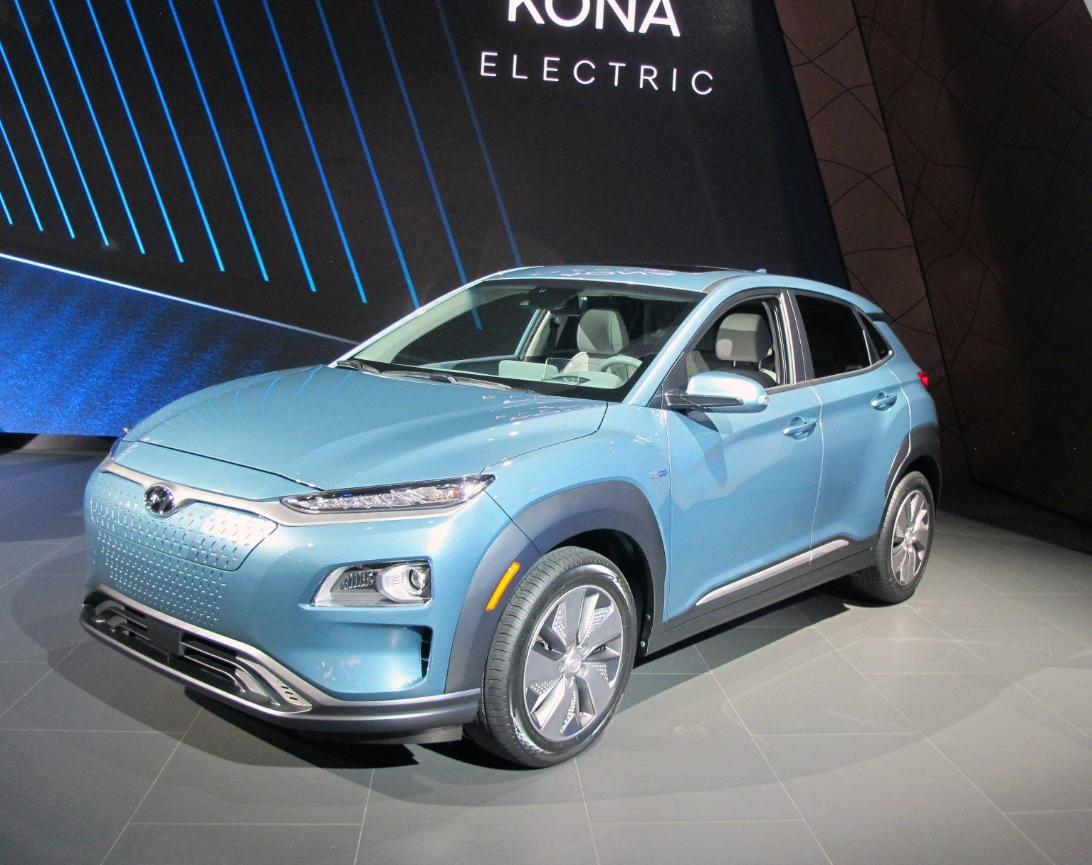 2019 Hyundai Kona EV Interior HD Wallpapers