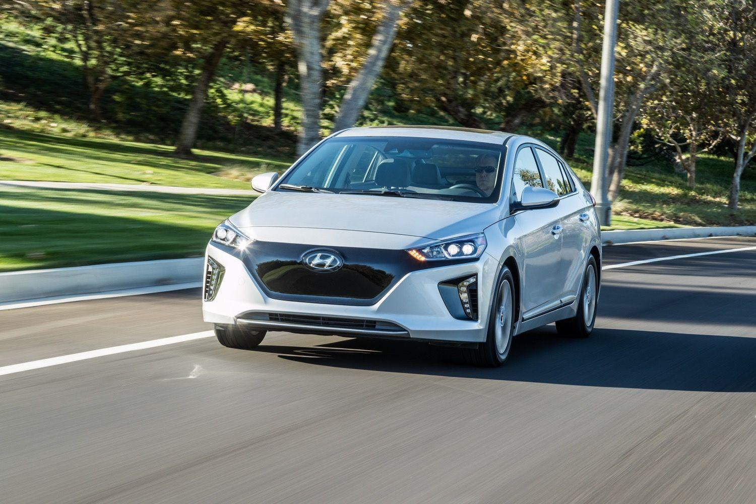 2017 Hyundai Ioniq Electric has 124