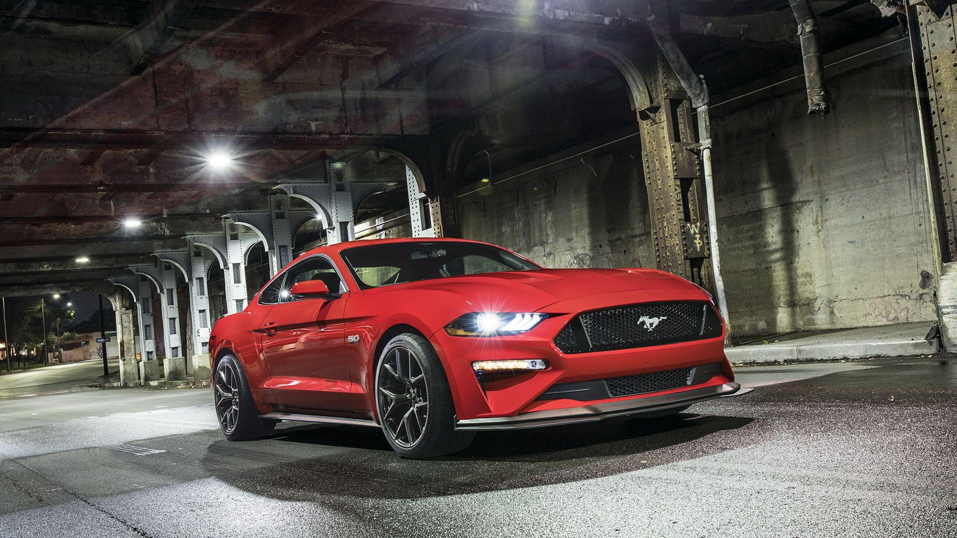2018 Ford Mustang GT Performance Pack Level 2 Full HD Wallpapers