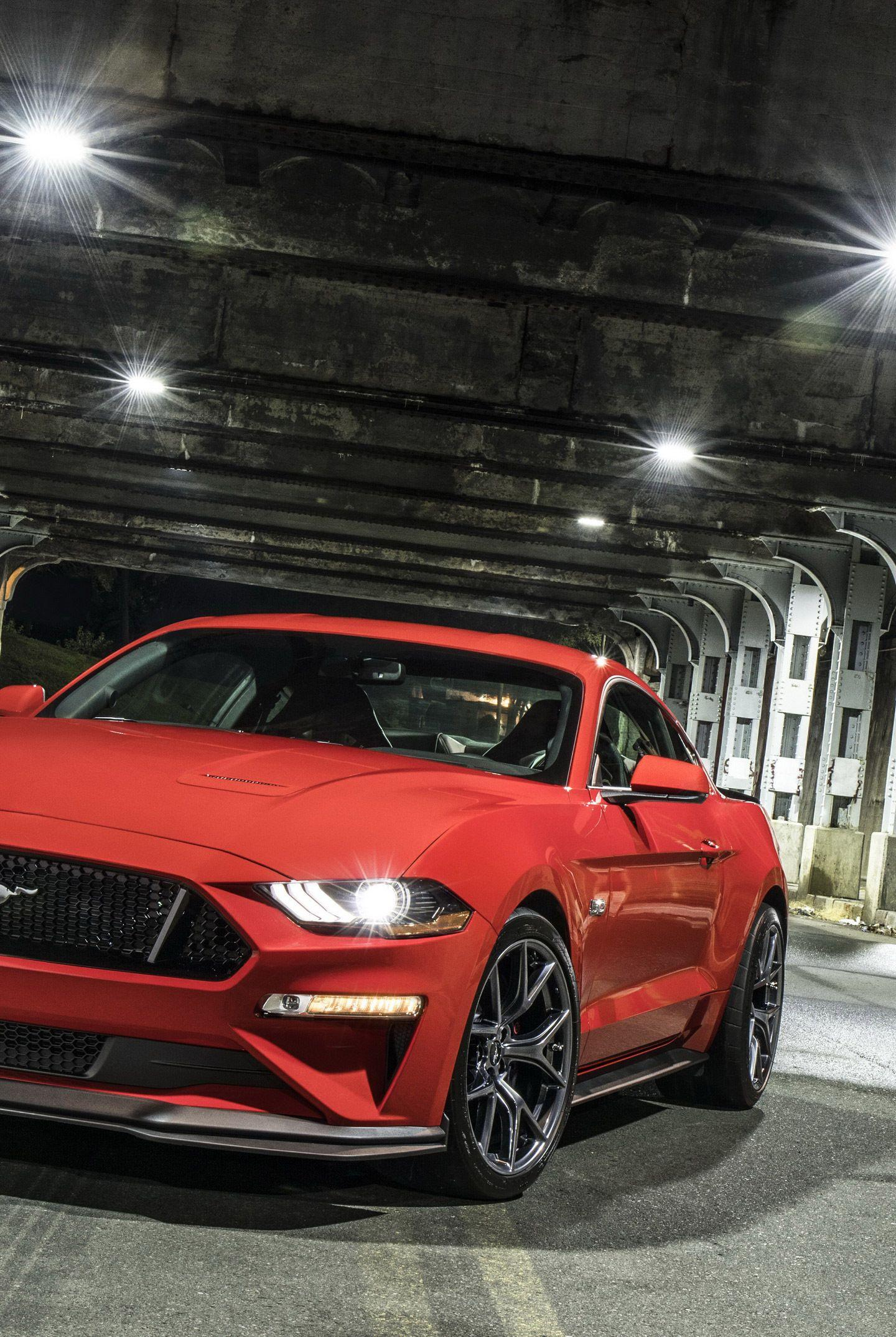 Download 1440x2960 wallpapers 2018 ford mustang gt performance