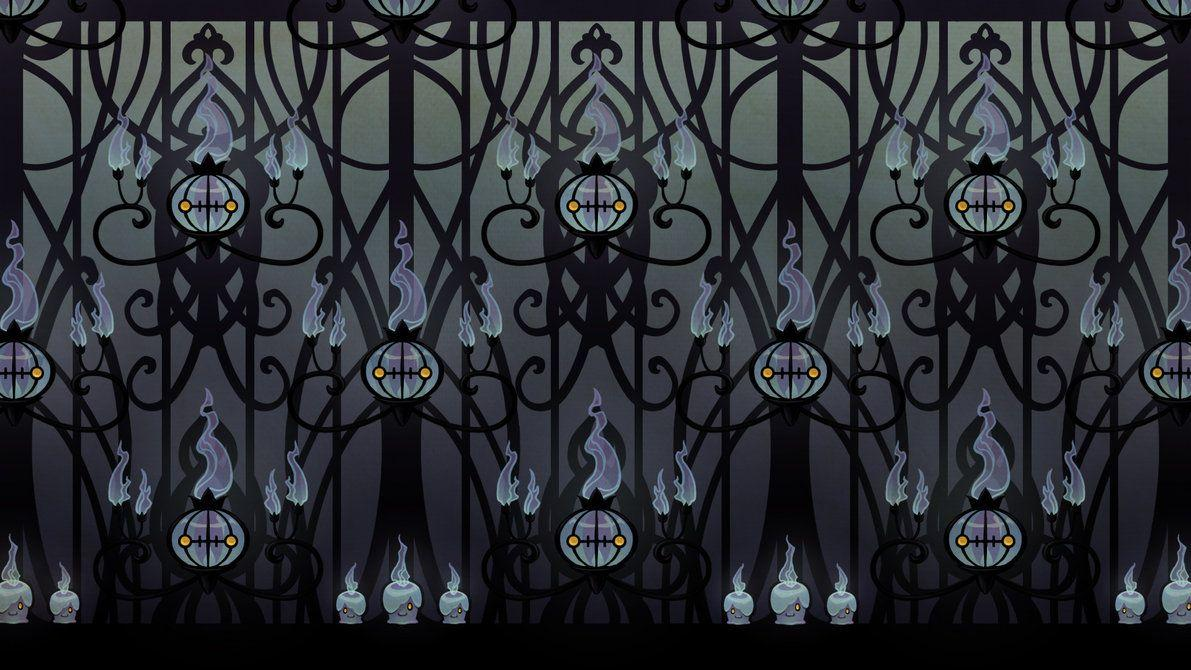 Chandelure Nouveau Wallpaper by Galadnilien on DeviantArt