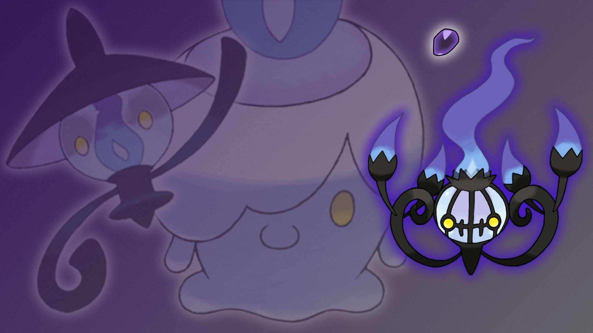 Chandelure Wallpapers Images Photos Pictures Backgrounds