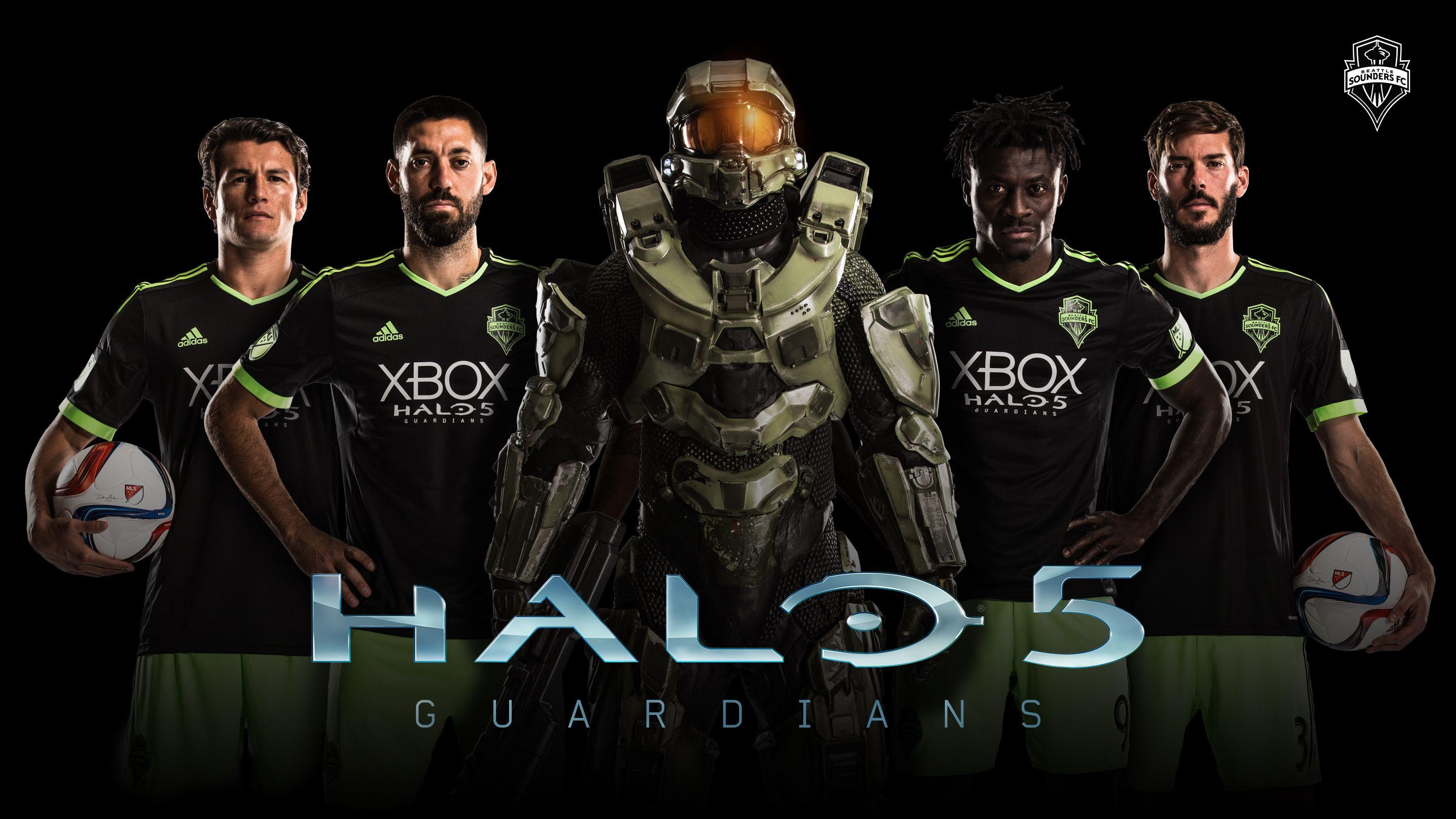 MLS Seattle Sounders FC Logo Halo 5 wallpapers 2018 in Soccer