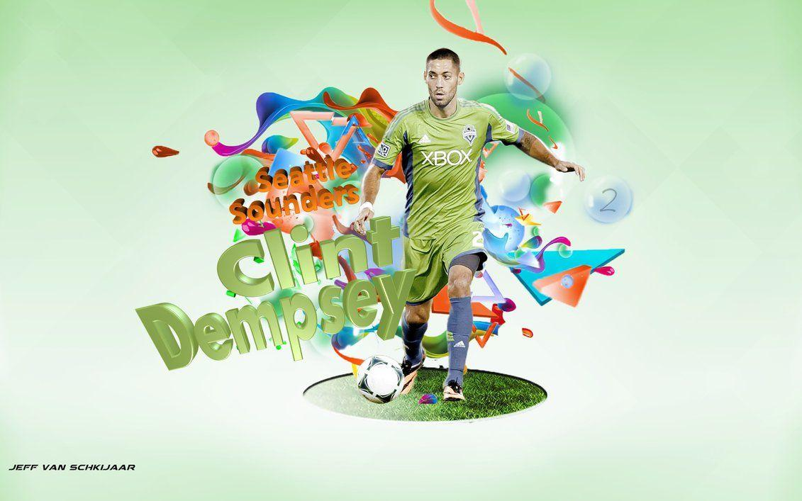 Clint Dempsey Seattle Sounders 2013