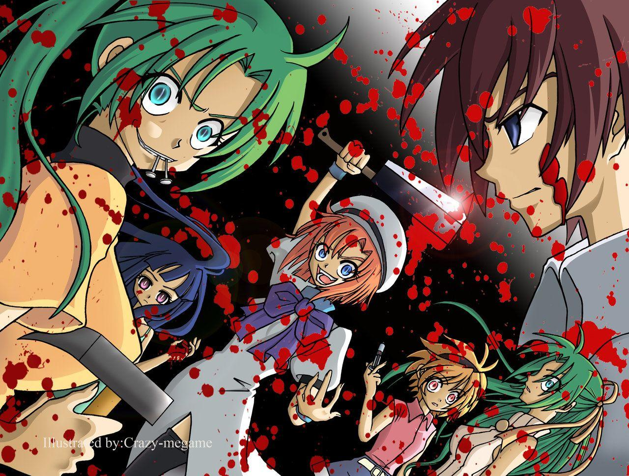 Higurashi When They Cry Wallpapers Wallpaper Cave