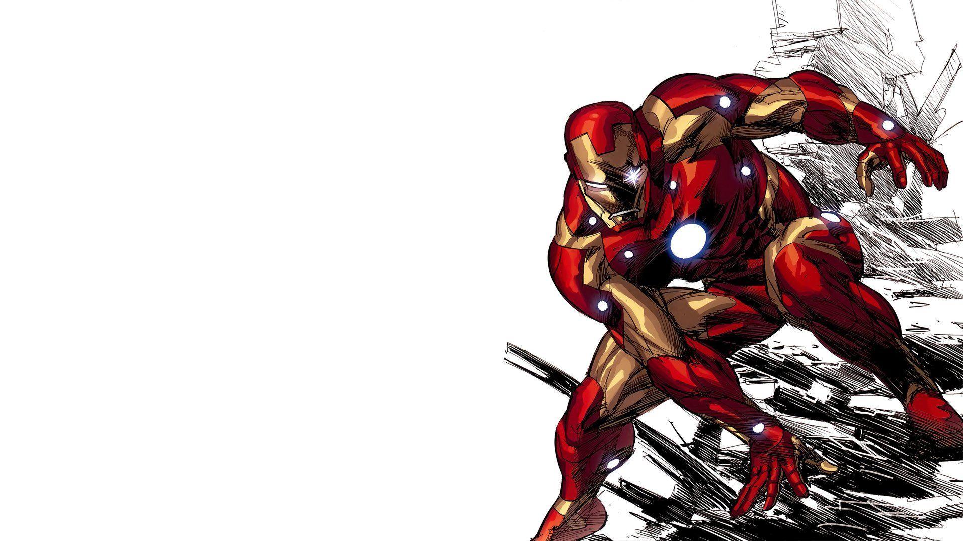 Iron Man comic cartoon wallpapers - wallpaper.wiki