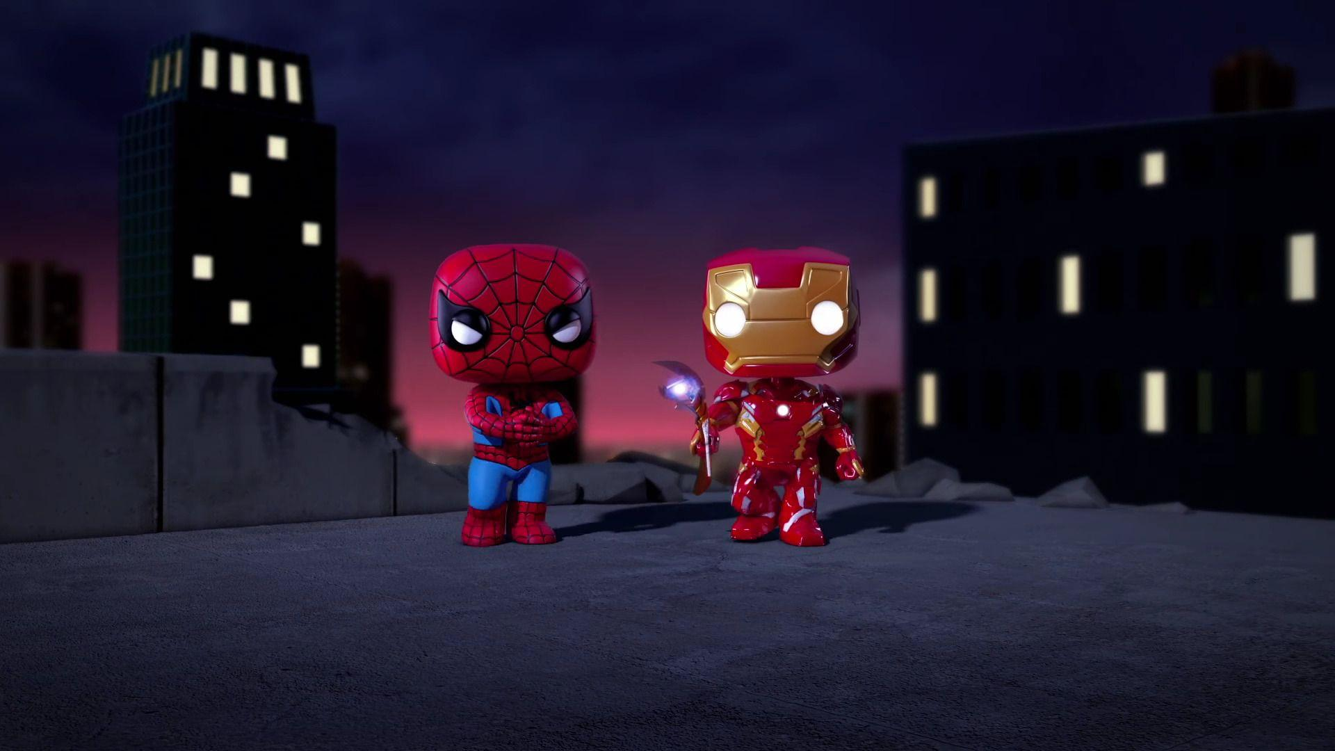 Iron Man Cartoon Wallpapers Wallpaper Cave