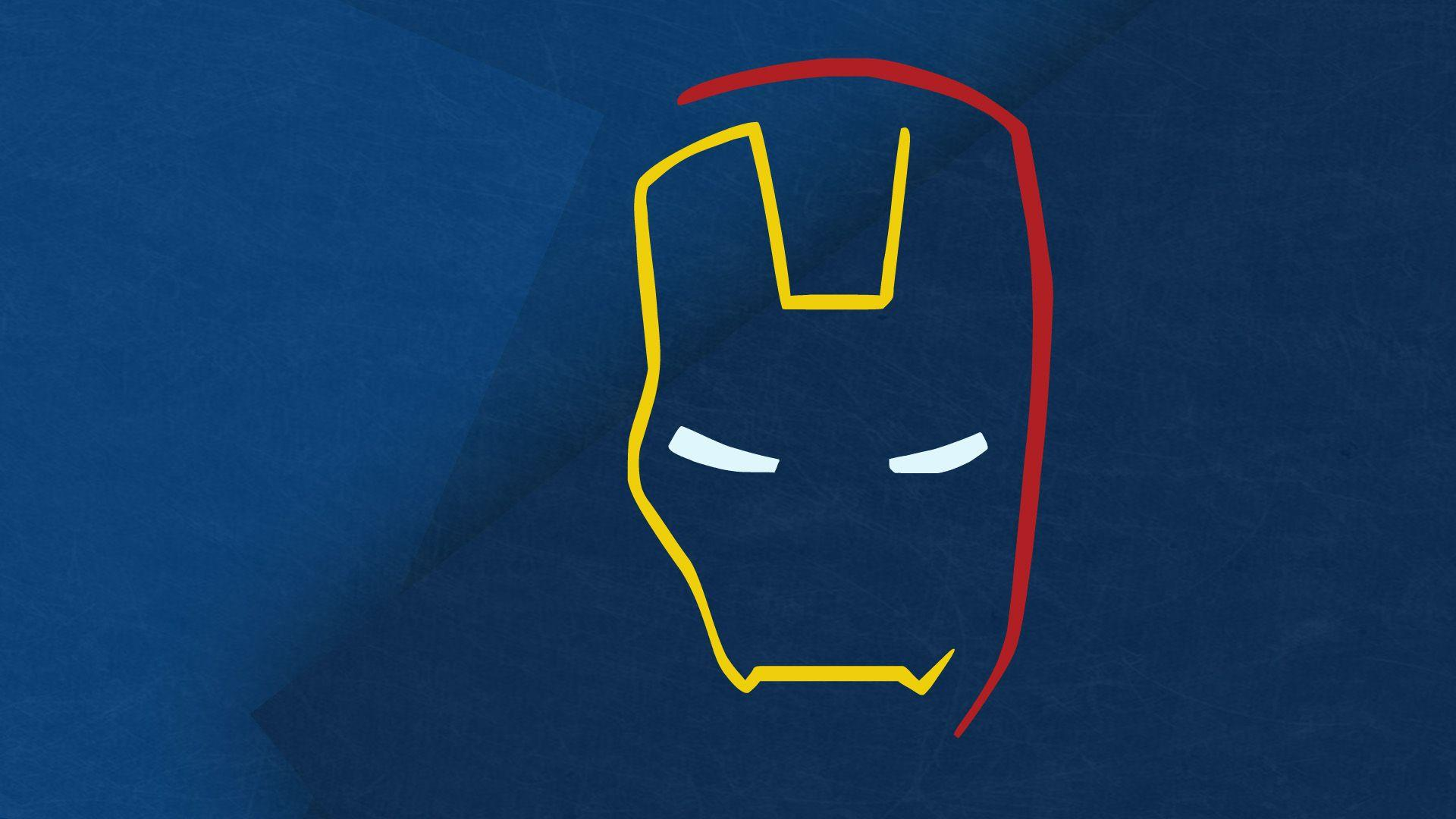 Iron Man Cartoon Wallpapers Wallpaper Cave