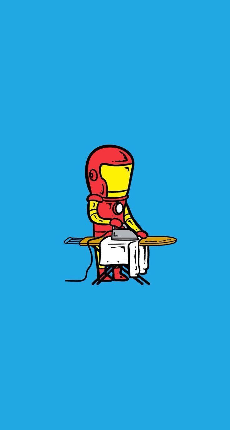 Download Wallpaper Iron Man Cartoon Hd Cikimmcom