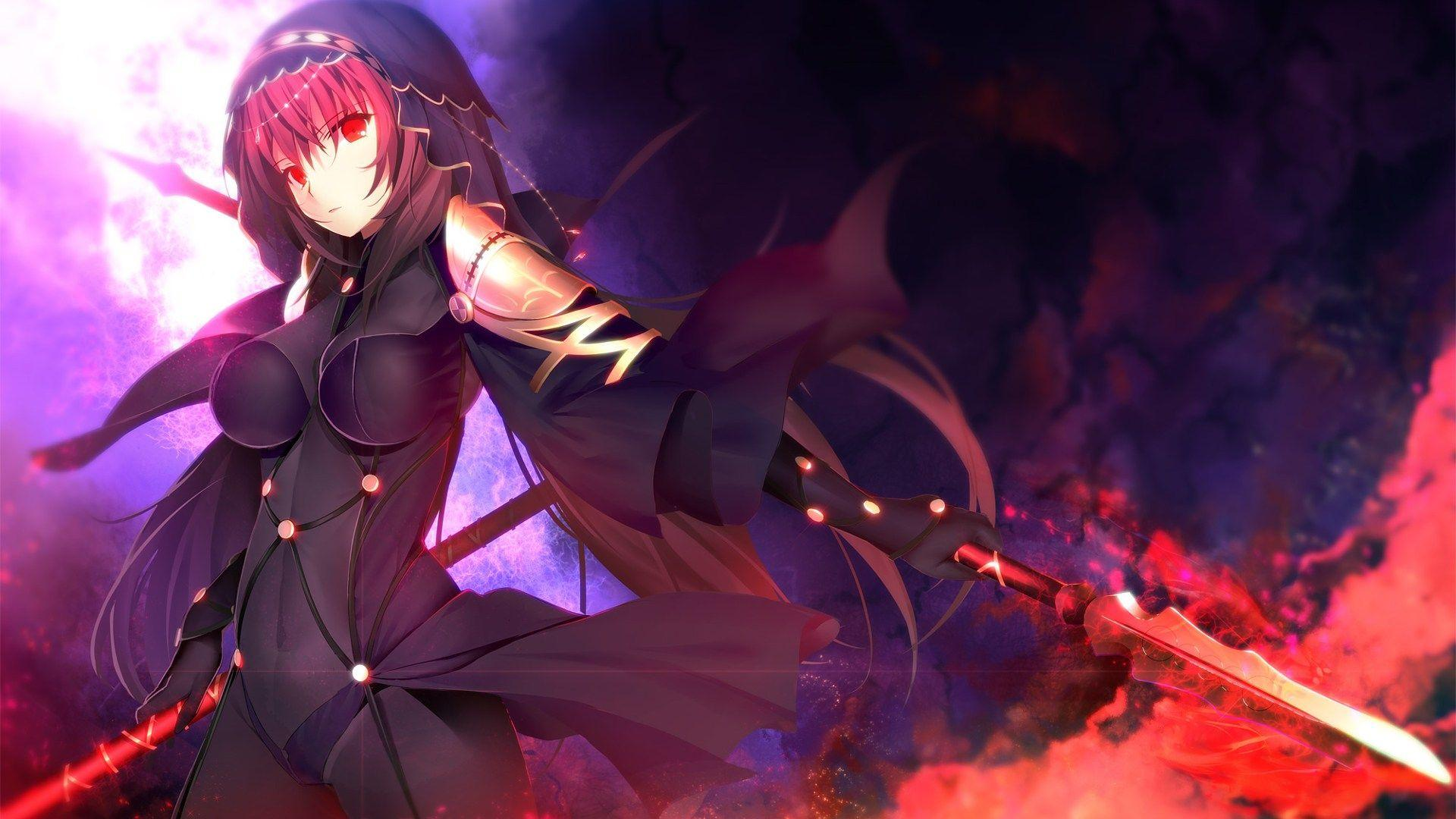 Fate/Grand Order, Fate/Stay, Lancer, Scathach HD Wallpapers
