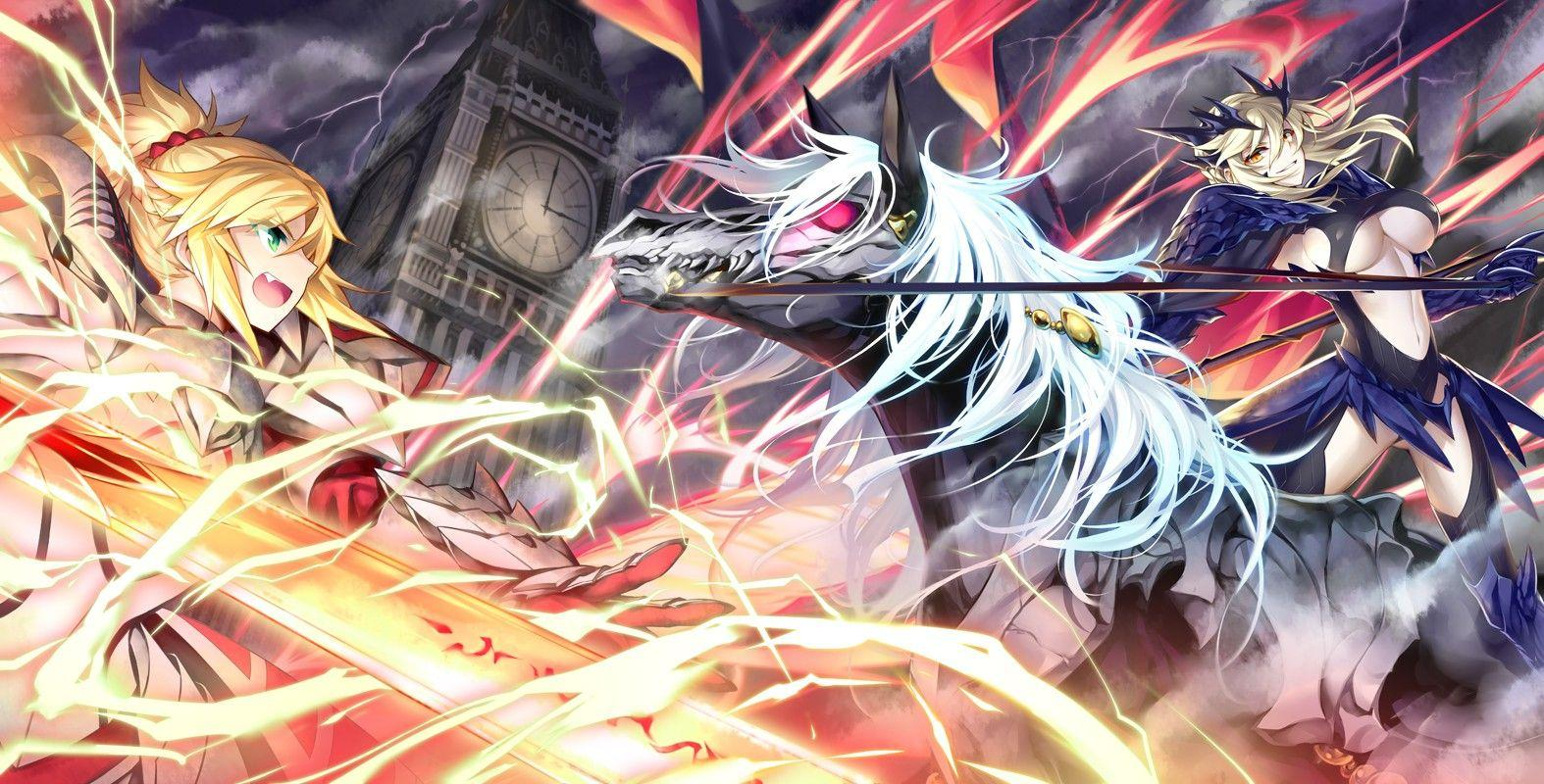 Wallpapers : anime, horse, sword, Saber, Fate Grand Order, Fate