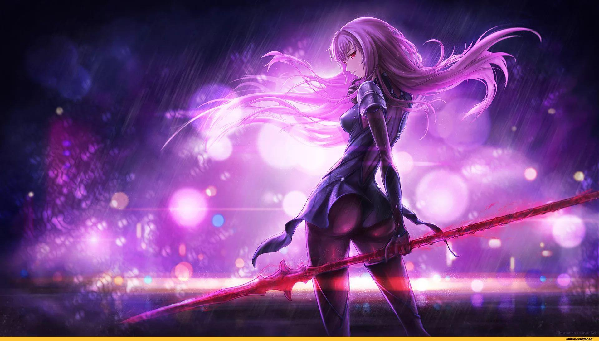 Scathach Fate Grand Order HD Wallpapers free