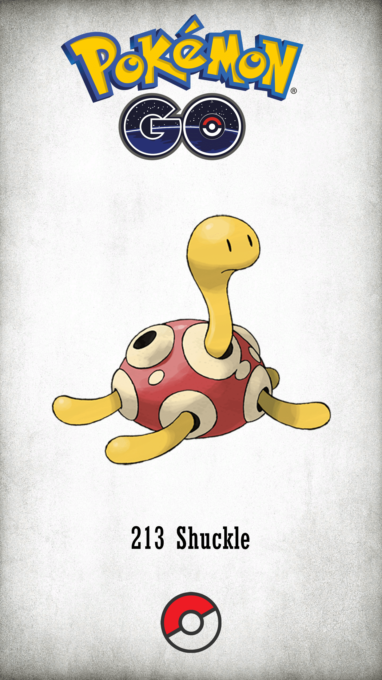 213 Character Shuckle | Wallpaper