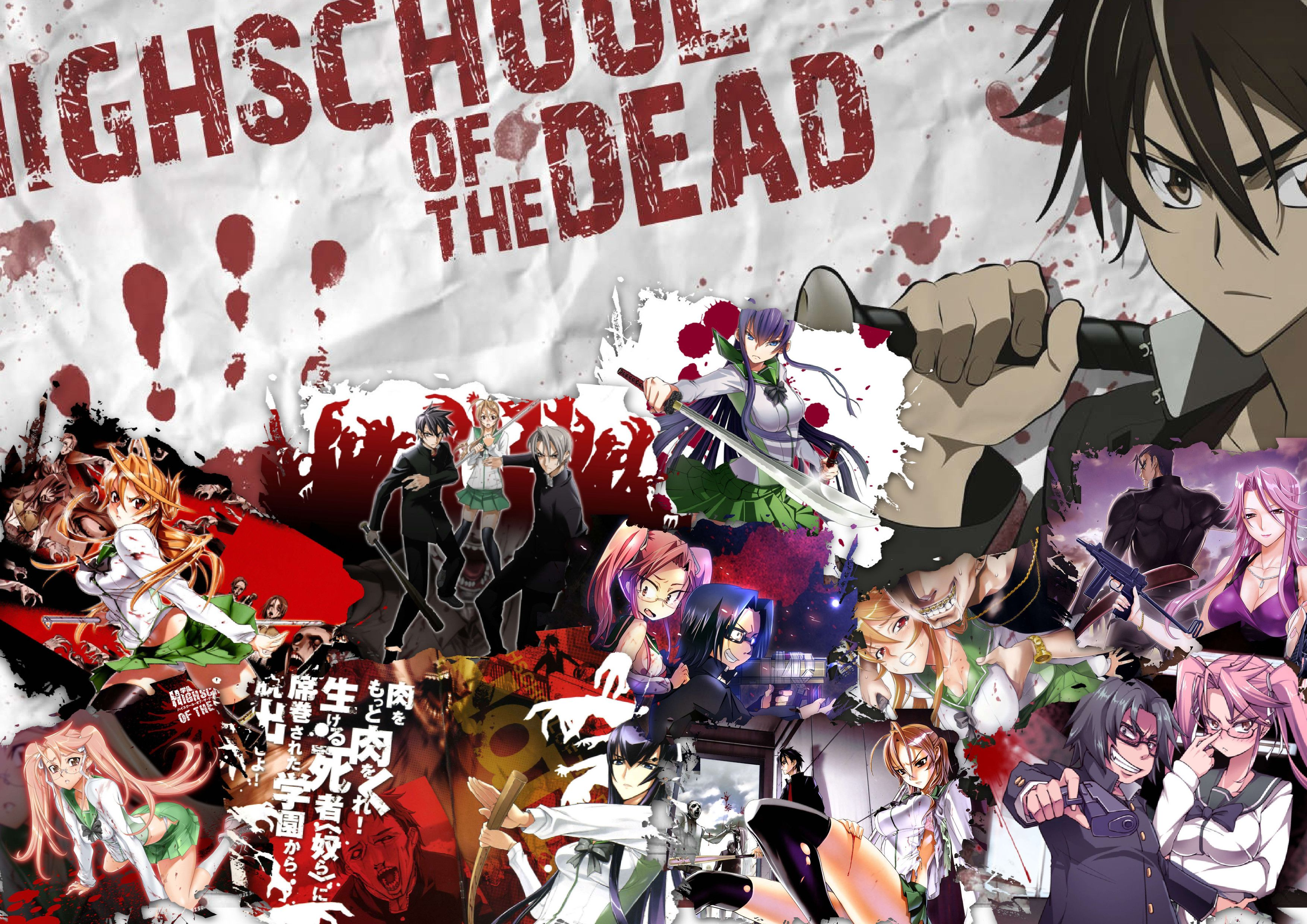 Highschool Of The Dead Hd Wallpapers Wallpaper Cave