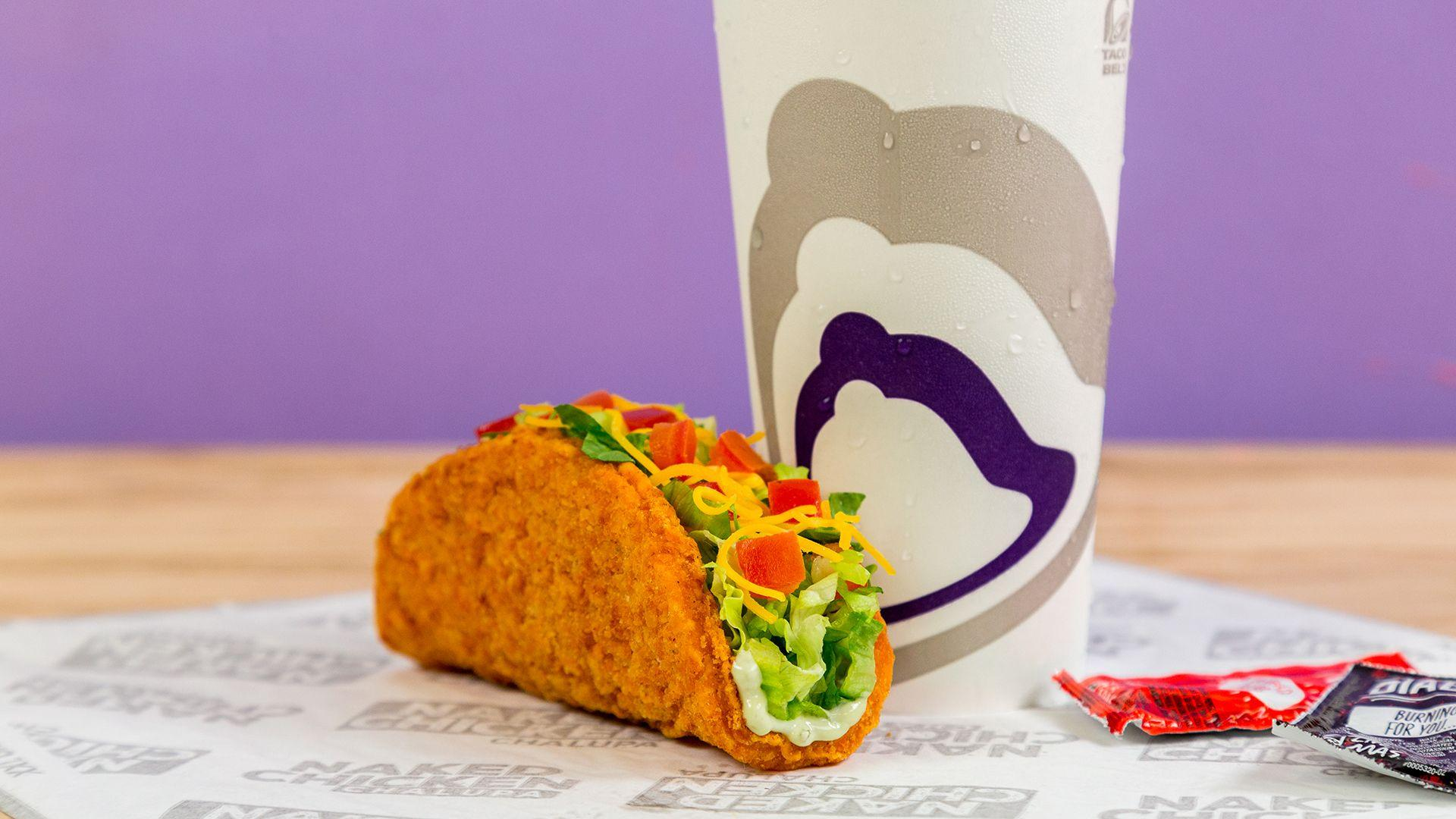Taco Bell selling fried chicken taco shells nationwide - TODAY.com