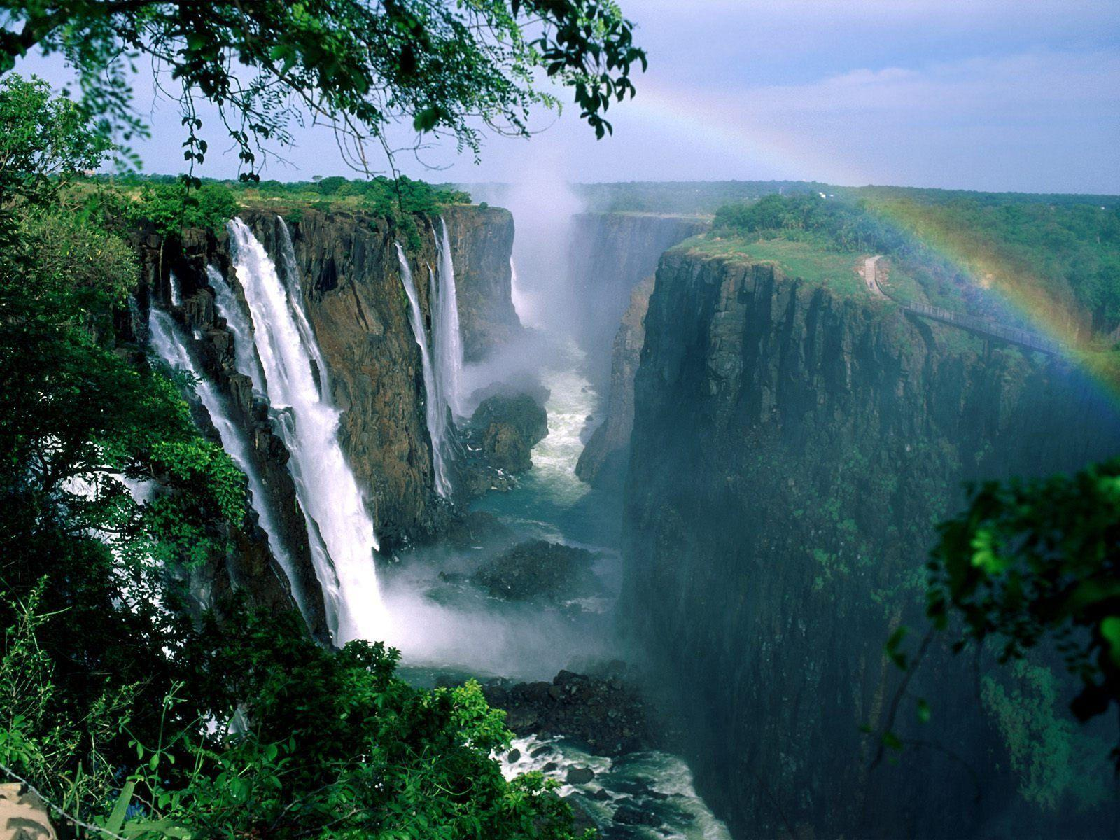 6 Victoria Falls HD Wallpapers | Background Images - Wallpaper Abyss