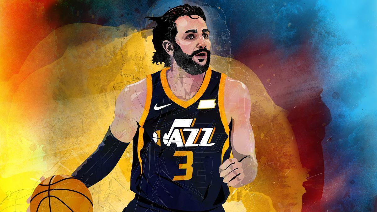 cheap for discount 84a92 d6daf Ricky Rubio Utah Jazz Wallpapers - Wallpaper Cave