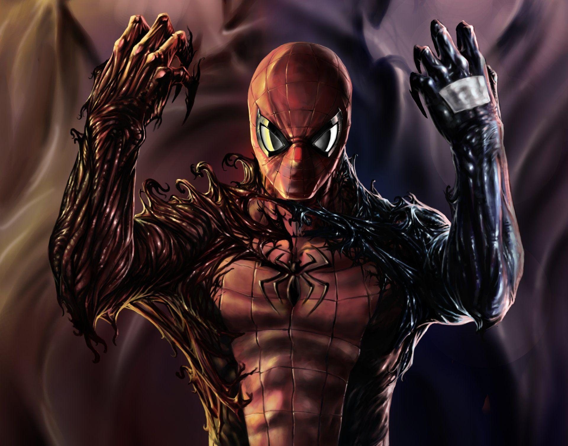 spiderman venom carnage symbiote HD wallpapers