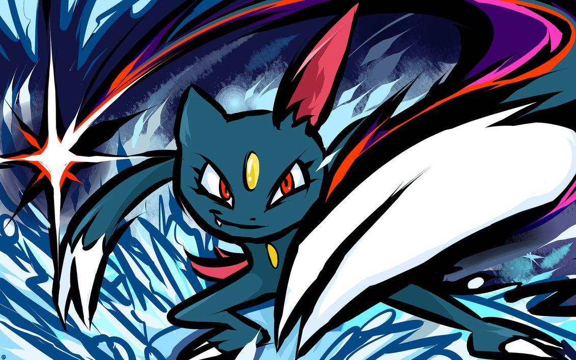 Sneasel | Night Slash by ishmam on DeviantArt