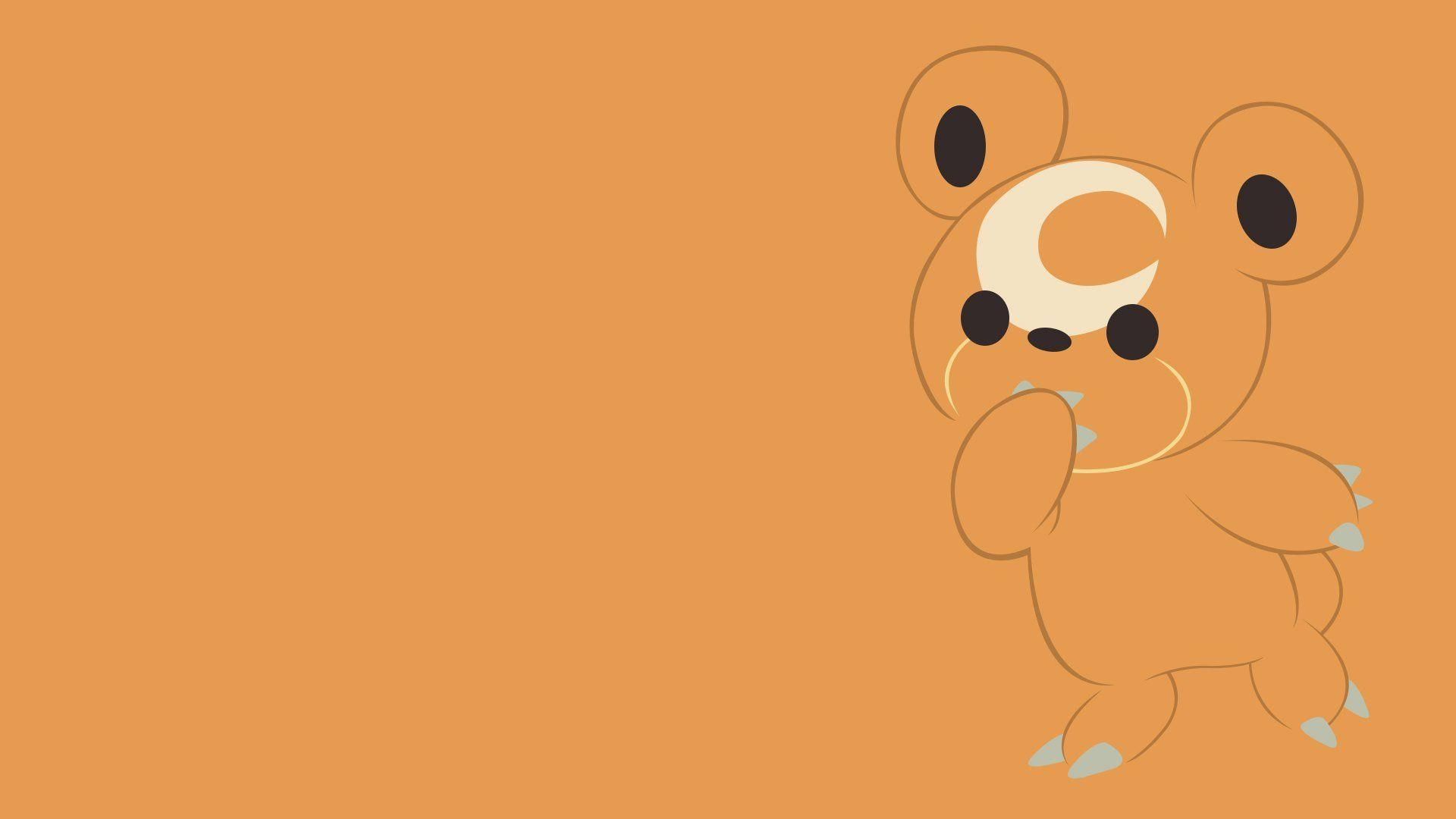 Teddiursa Full HD Wallpaper and Background Image | 1920x1080 | ID:561870