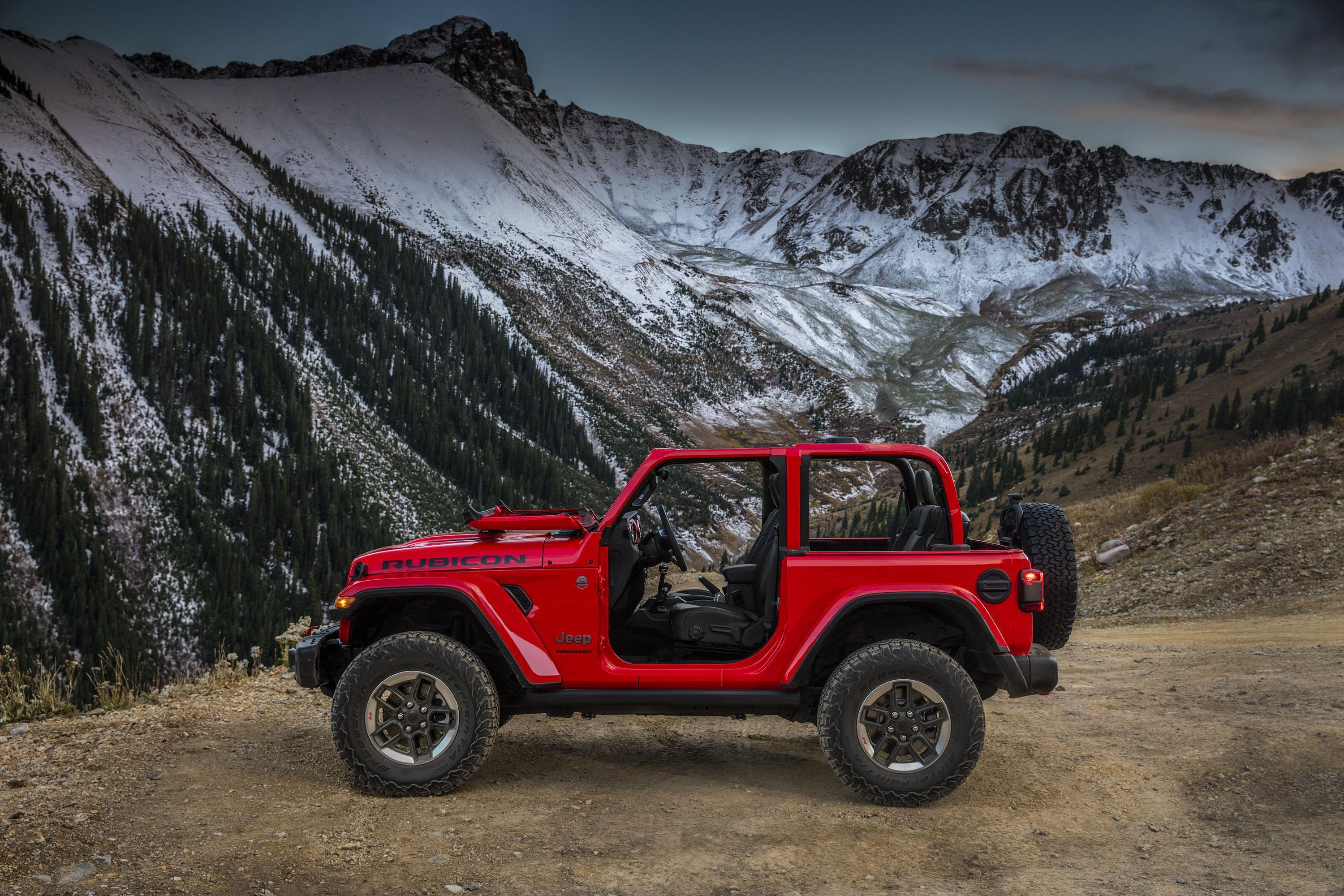 Jeep Wrangler 2018: Here Are Brand New Photos