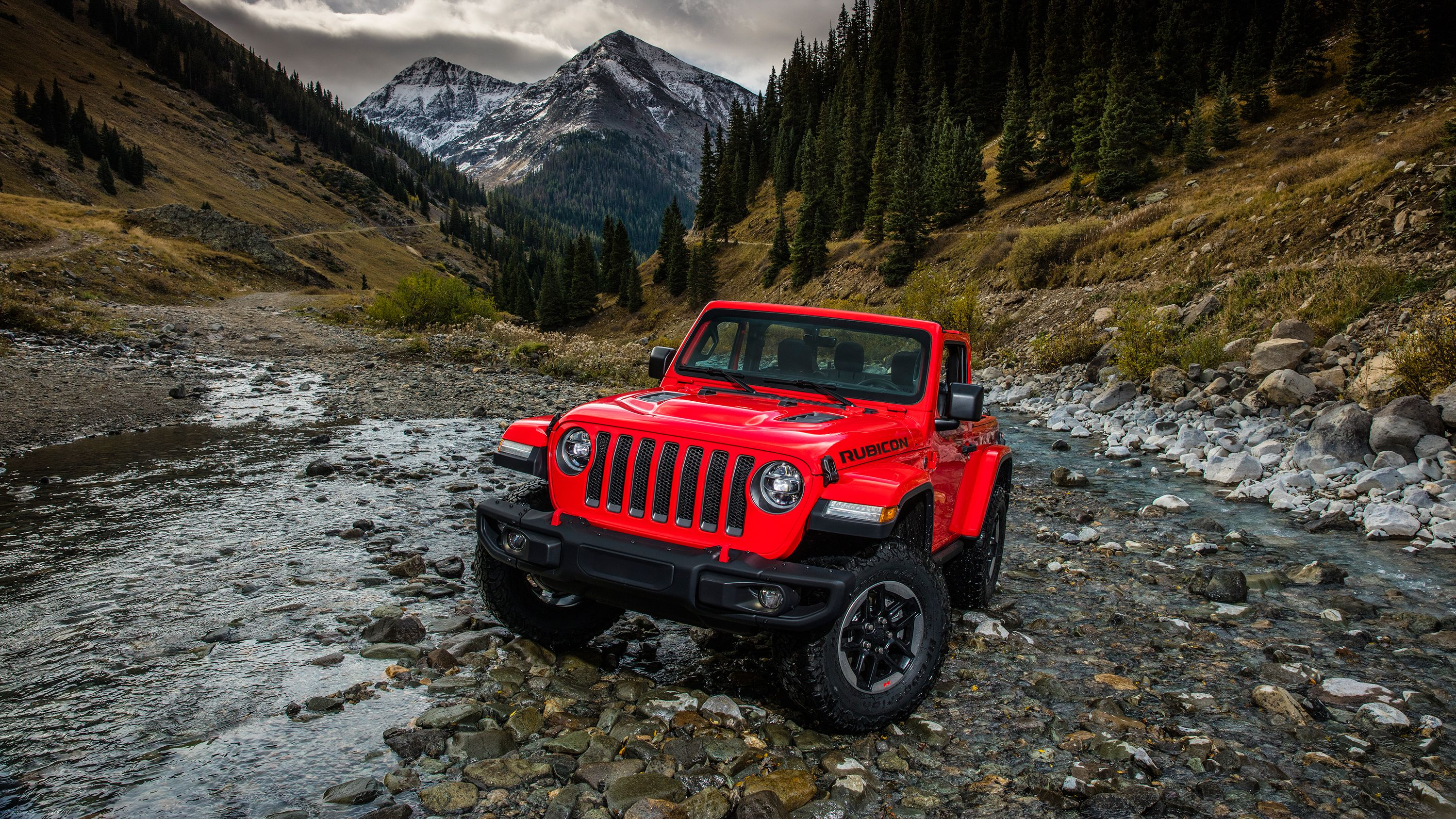 2018 Jeep Wrangler Rubicon Wallpapers
