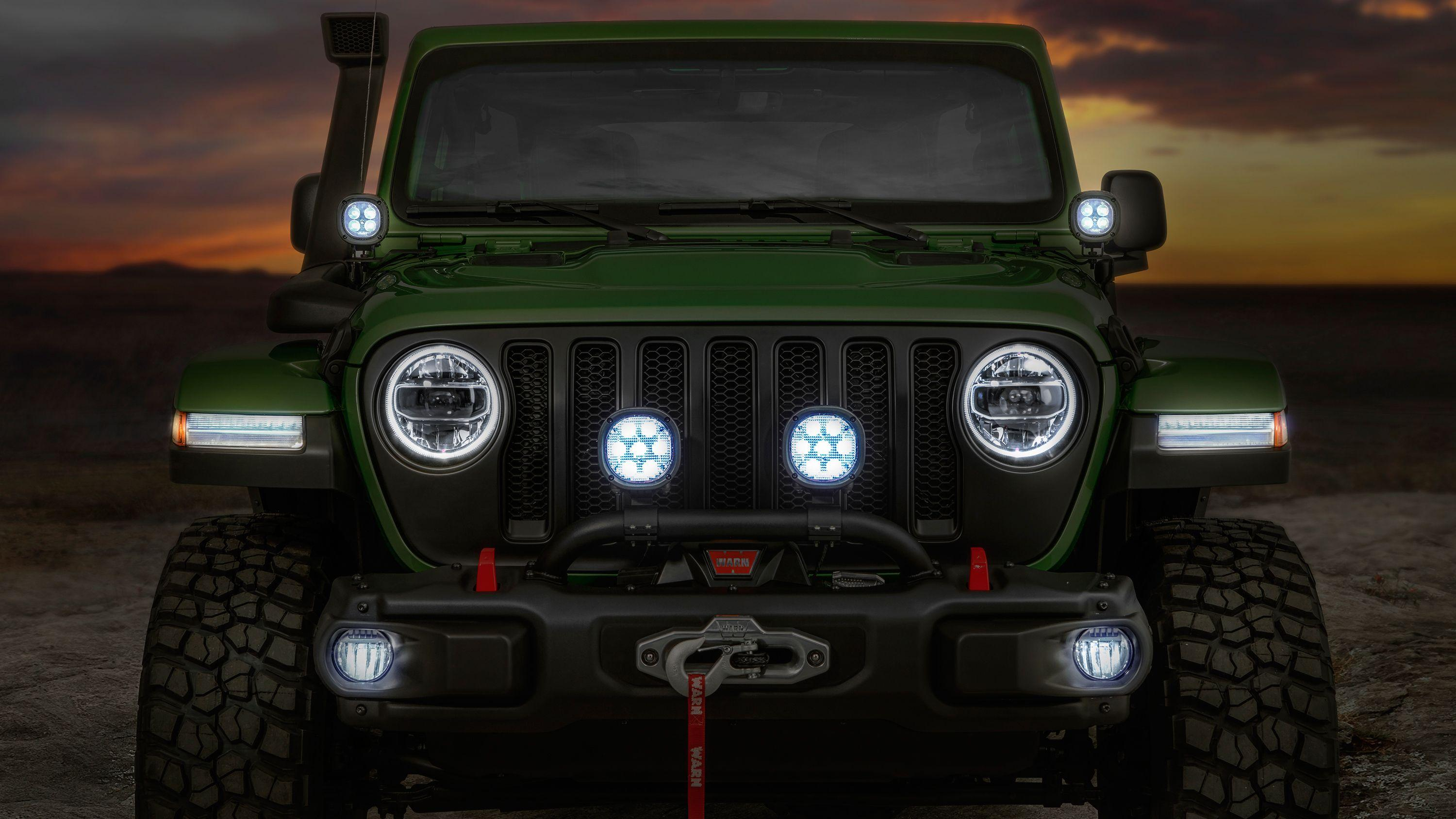 2018 Jeep Wrangler Unlimited Rubicon Moparized 2 Wallpapers