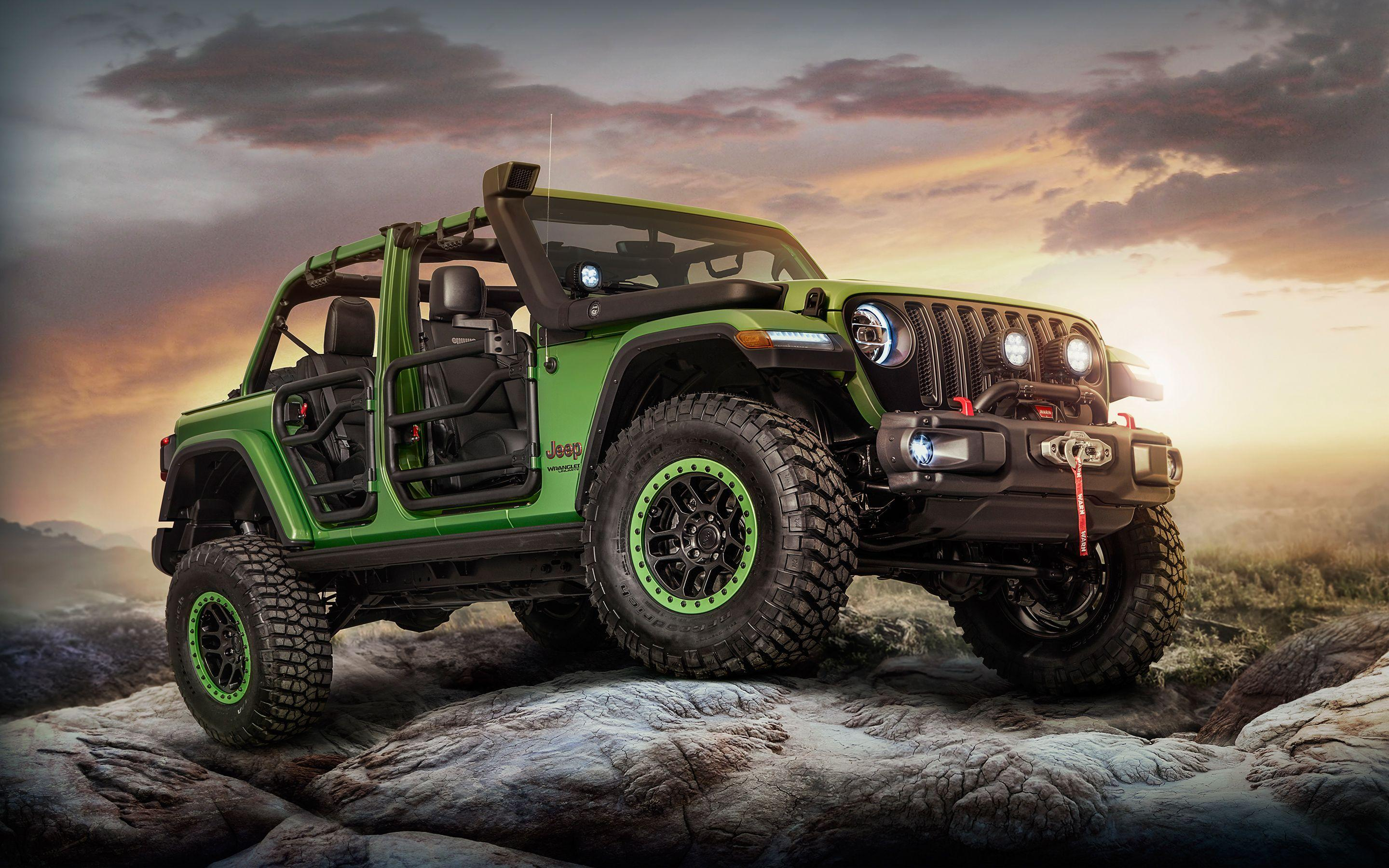Jeep Wrangler Unlimited Rubicon Moparized 2018 4K Wallpapers
