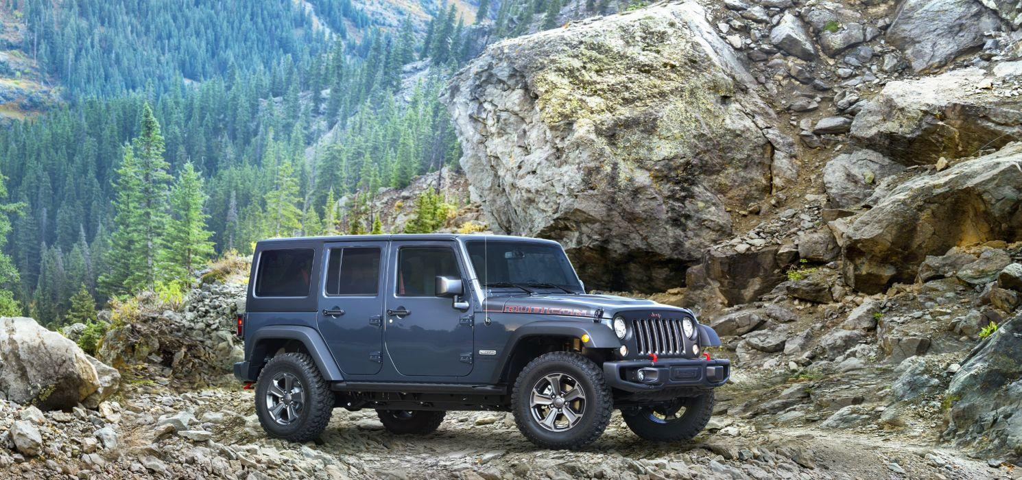 Jeep Wrangler Unlimited Rubicon Recon 2018 wallpapers