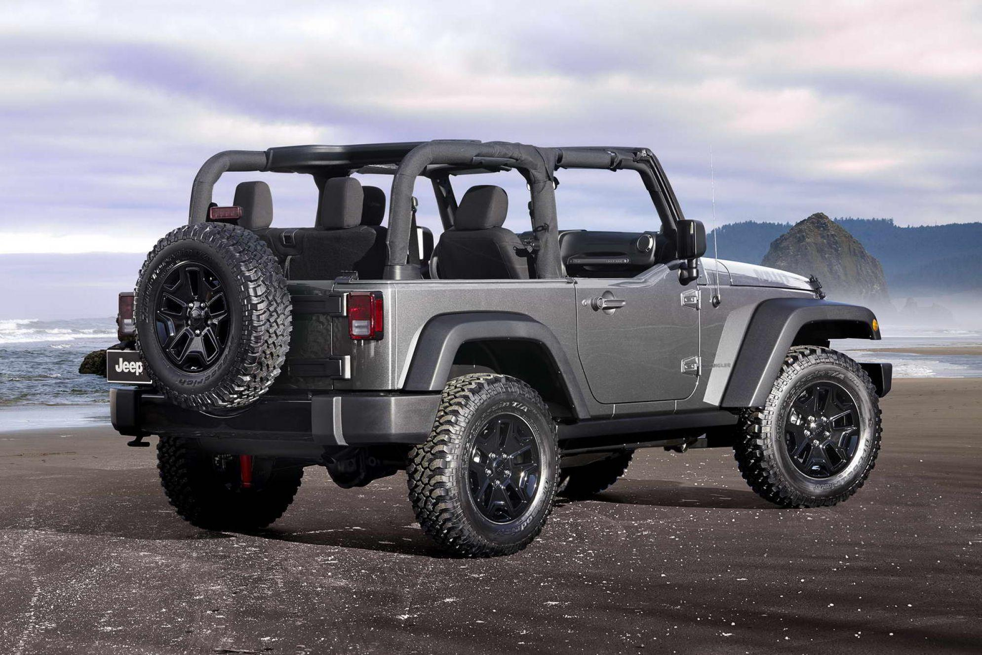 2018 Jeep Wrangler Convertible Desktop Wallpapers