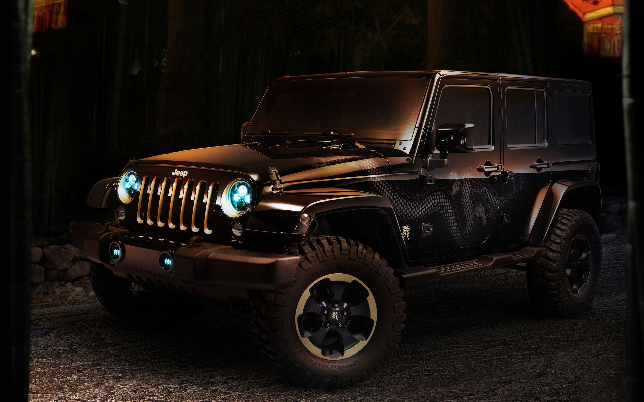 Jeep Wrangler Dragon Concept Hd Wallpapers 35719
