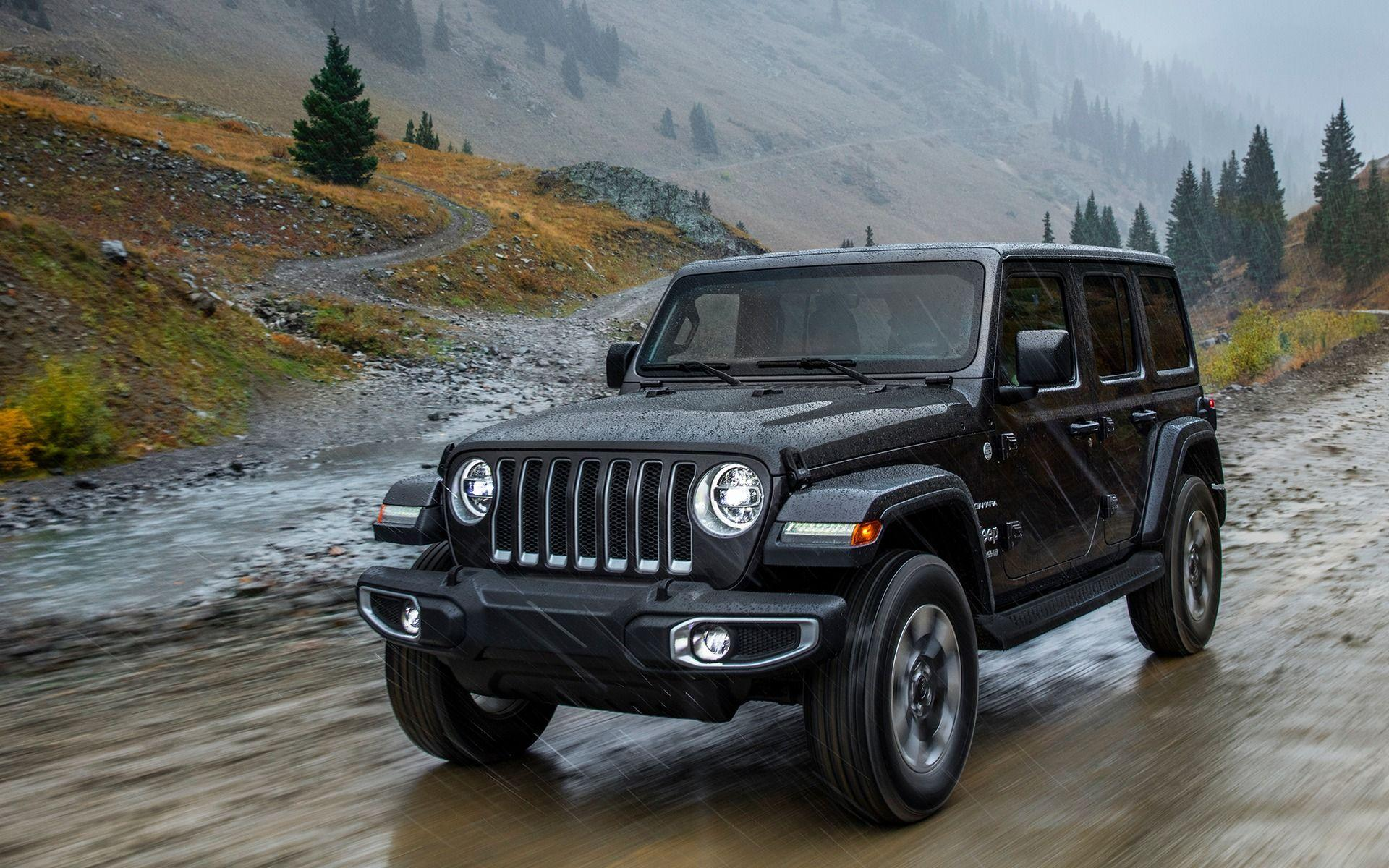 The 2018 Jeep Wrangler Sahara in Pictures