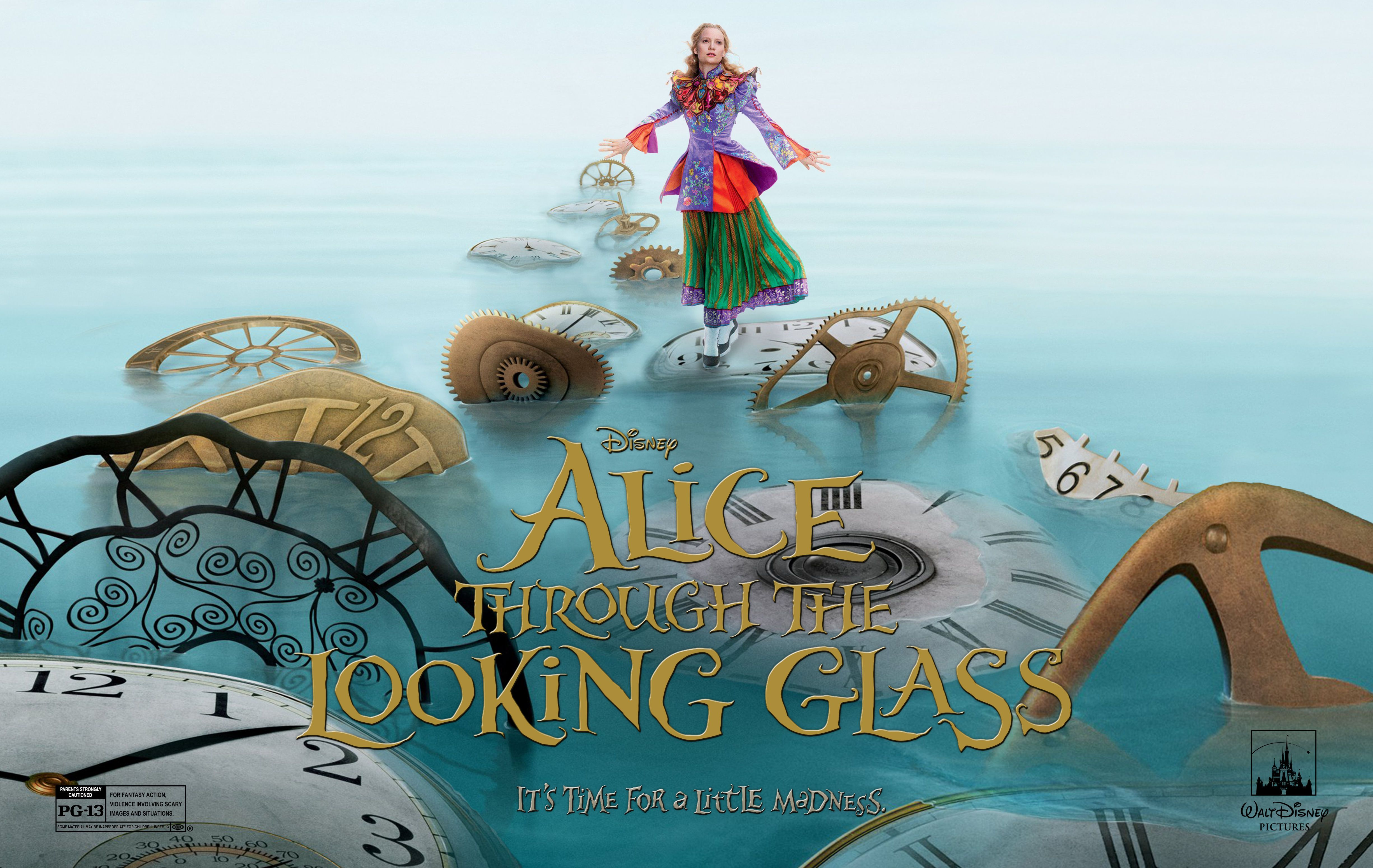 Alice Through The Looking Glass Wallpapers Wallpaper Cave