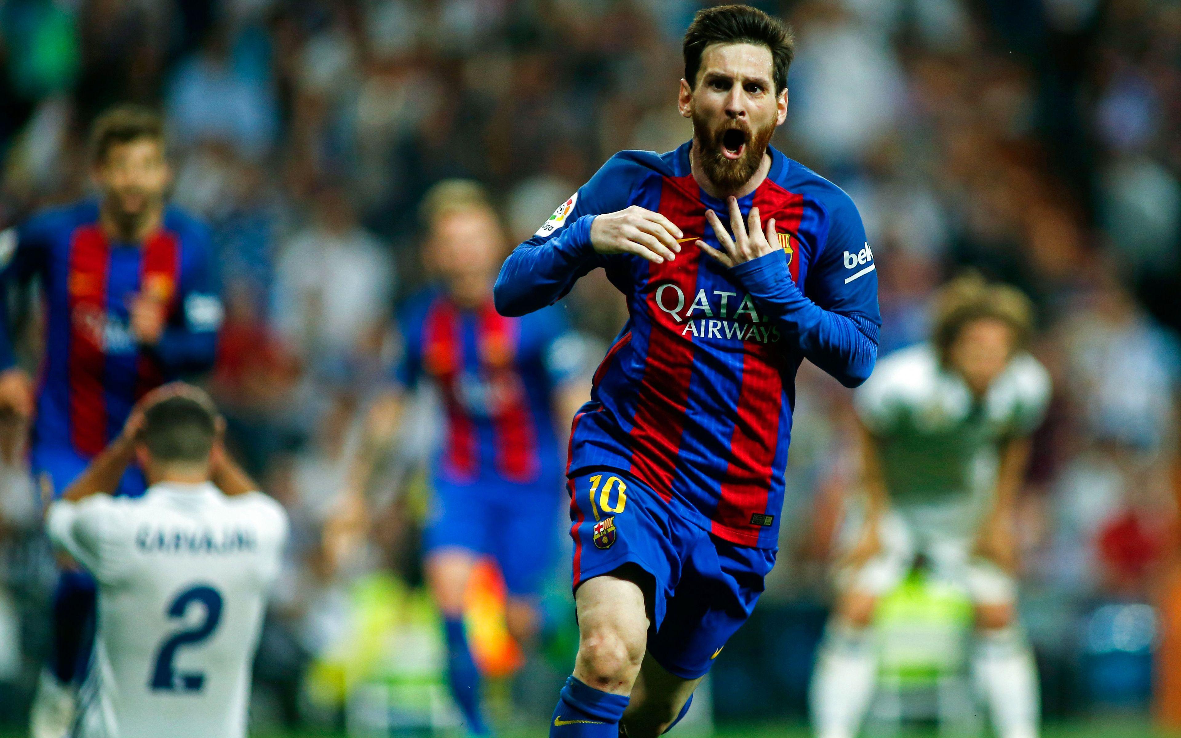 Download Lionel Messi Footballer 1440x900 Resolution, HD 4K Wallpapers